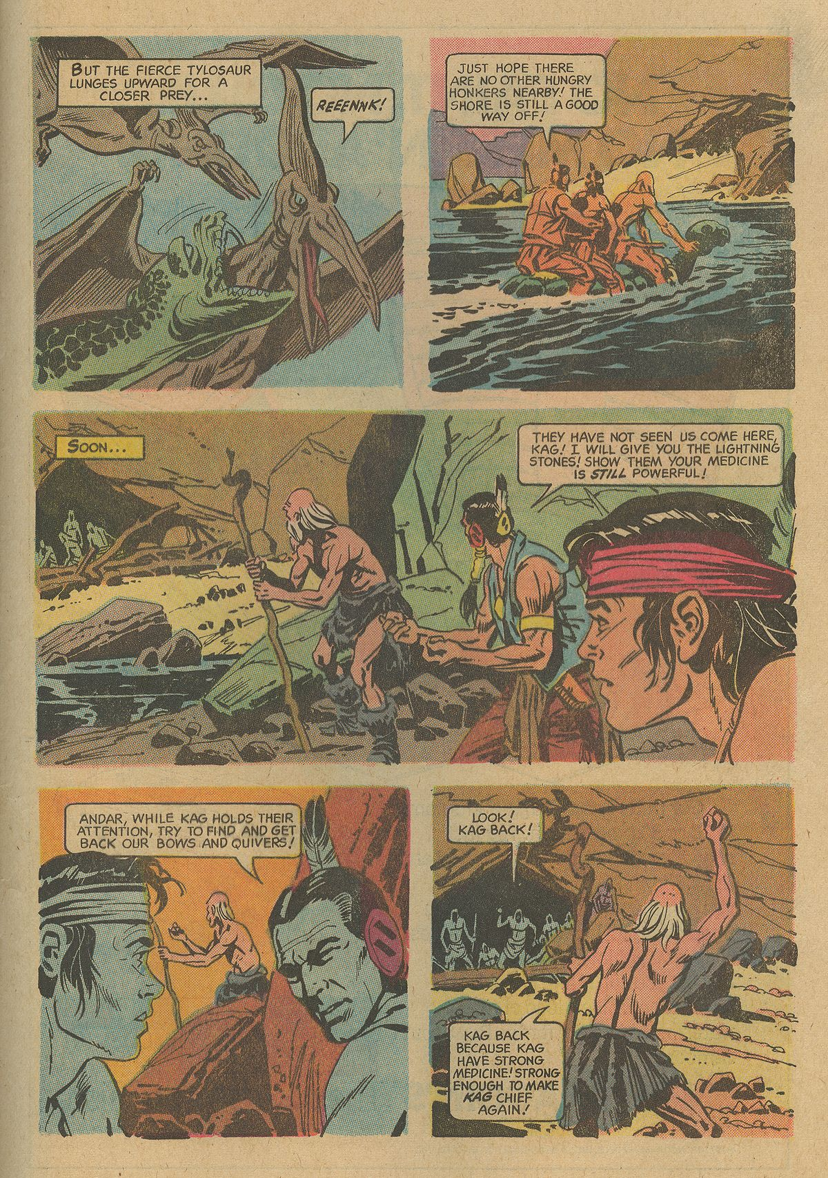 Read online Turok, Son of Stone comic -  Issue #74 - 28