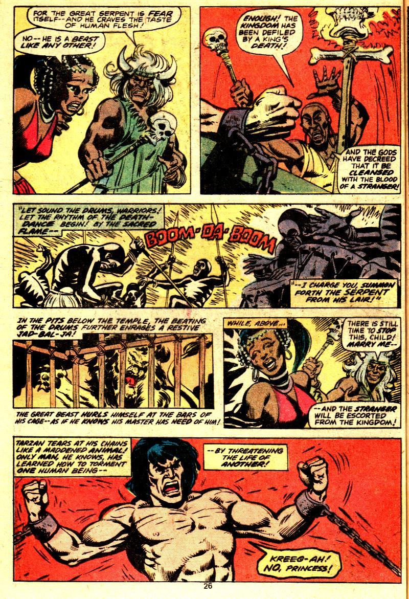 Read online Tarzan (1977) comic -  Issue # _Annual 2 - 22