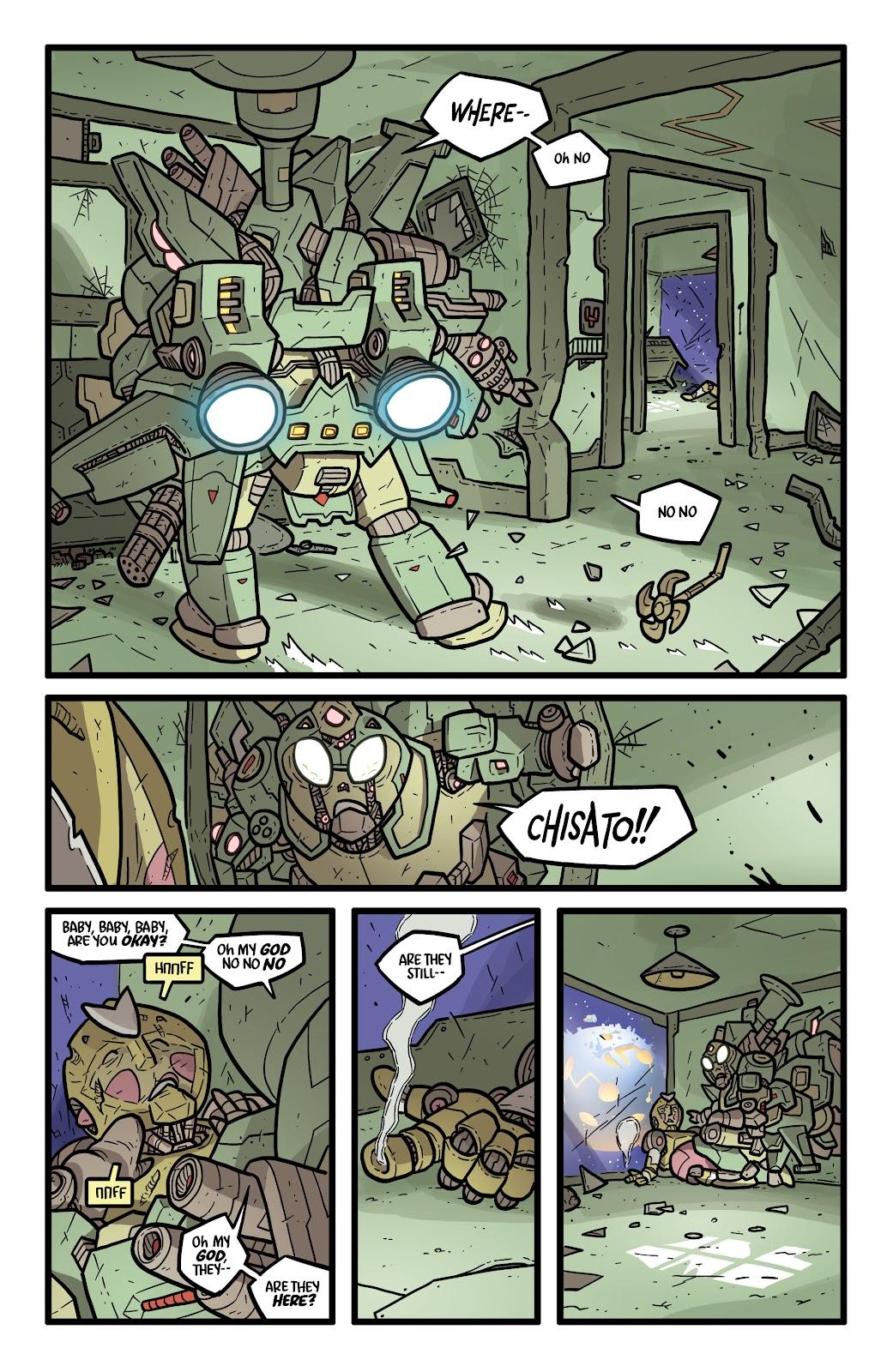 Read online Kaijumax: Season Four comic -  Issue #5 - 22