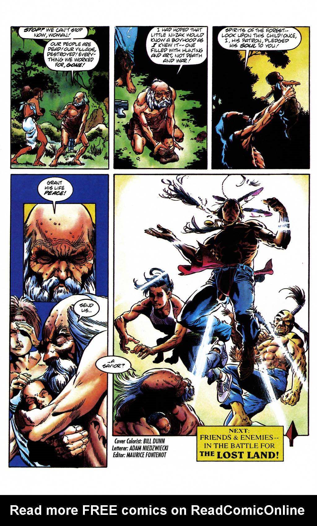 Read online Turok, Dinosaur Hunter (1993) comic -  Issue #24 - 22