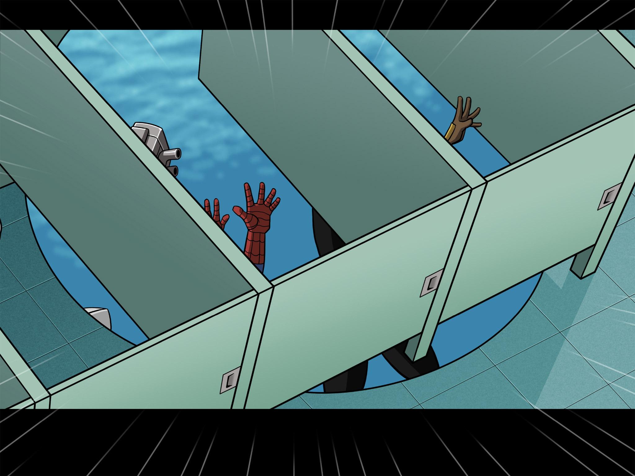 Read online Ultimate Spider-Man (Infinite Comics) (2015) comic -  Issue #7 - 28