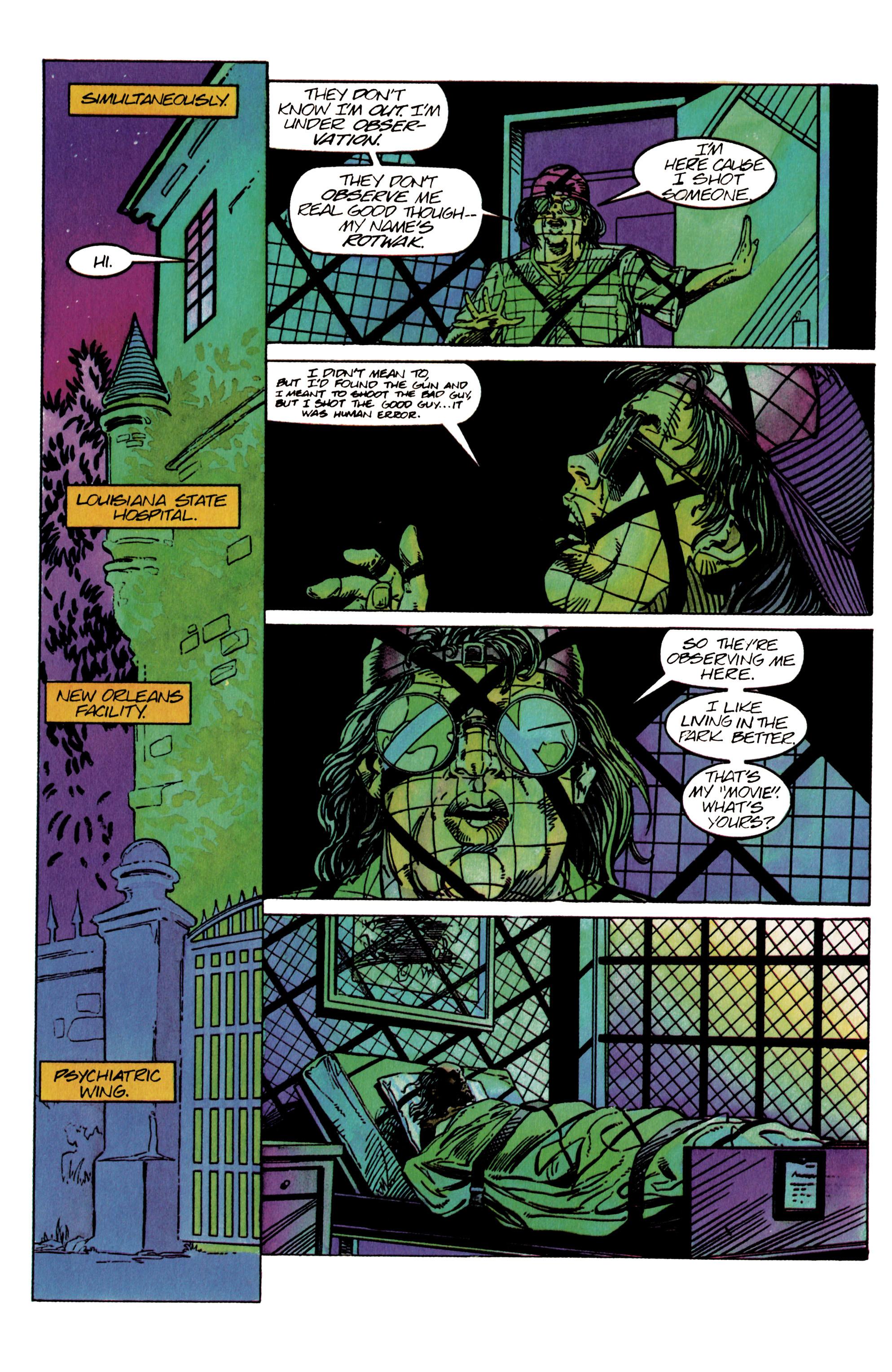Read online Shadowman (1992) comic -  Issue #26 - 17