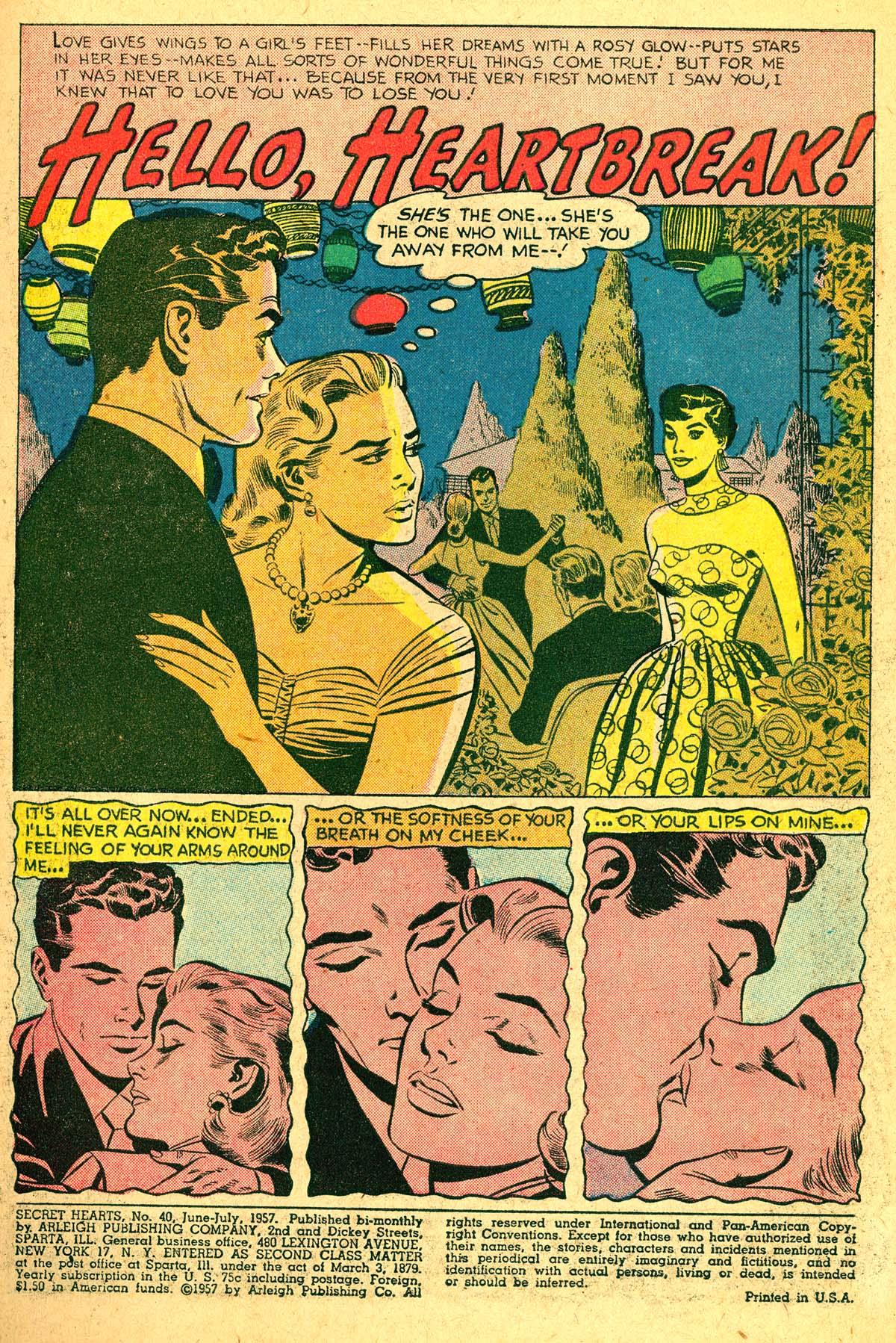 Read online Secret Hearts comic -  Issue #40 - 3