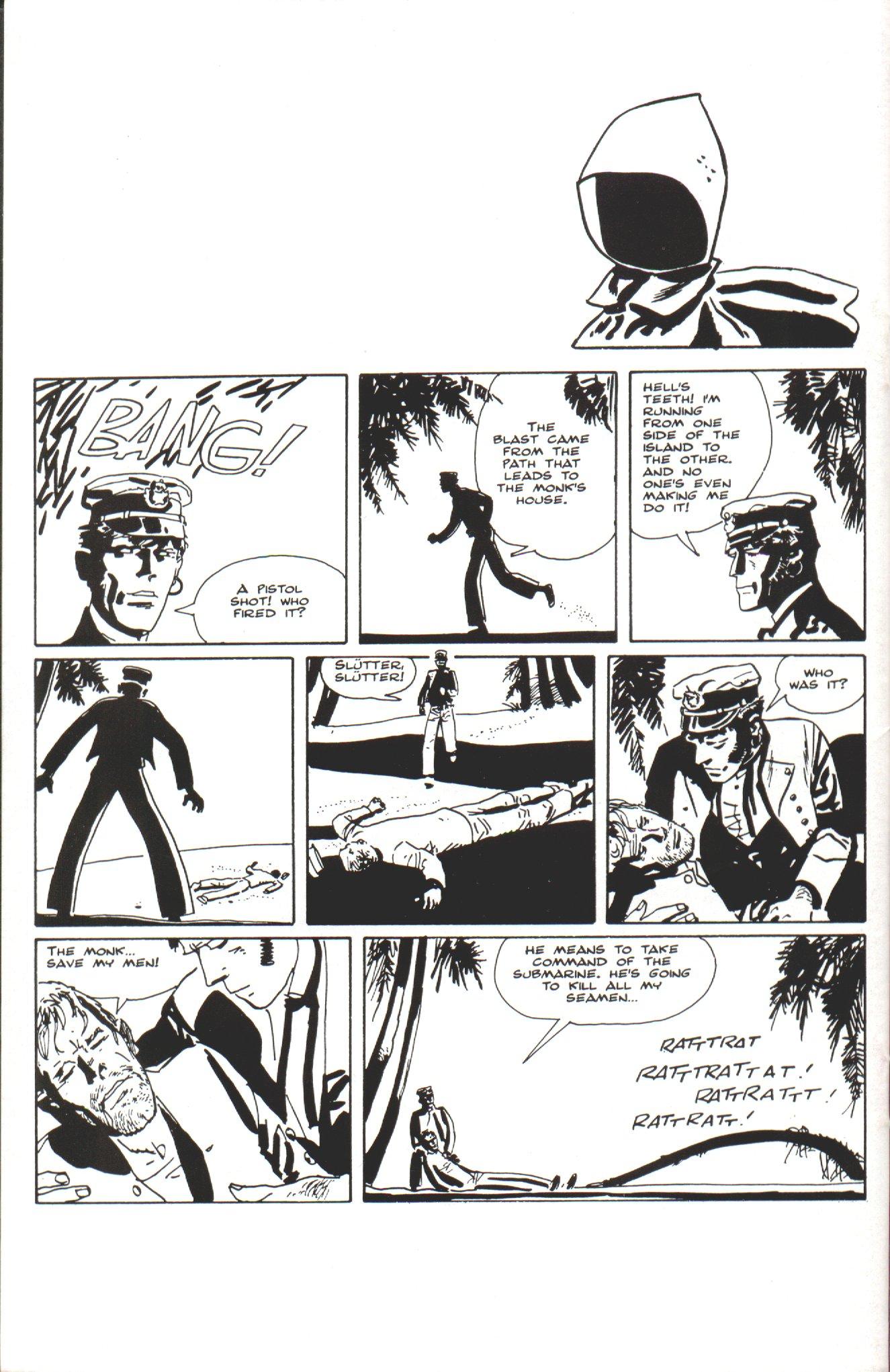 Read online Corto Maltese: Ballad of the Salt Sea comic -  Issue #6 - 28