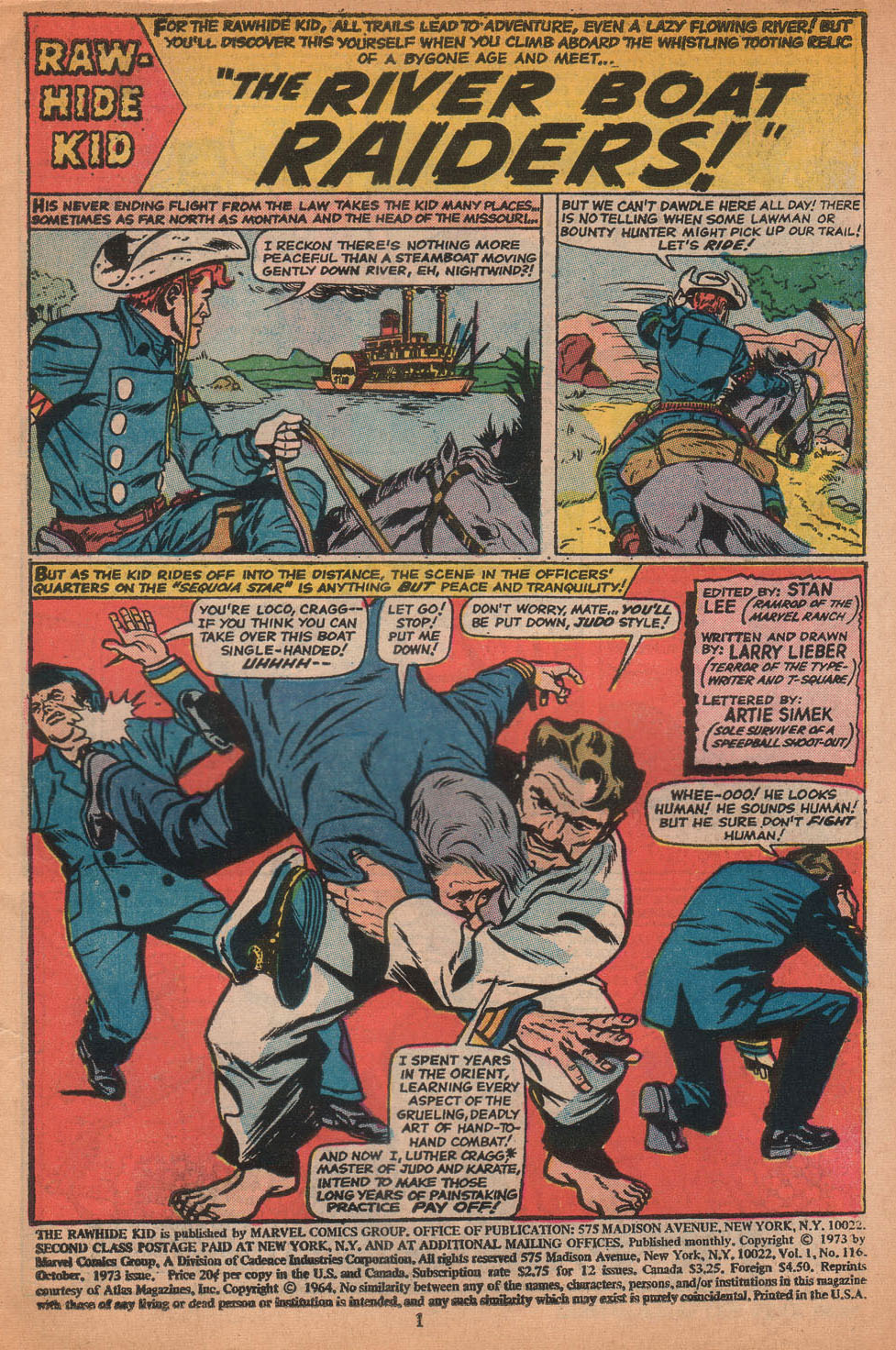 The Rawhide Kid (1955) issue 116 - Page 3