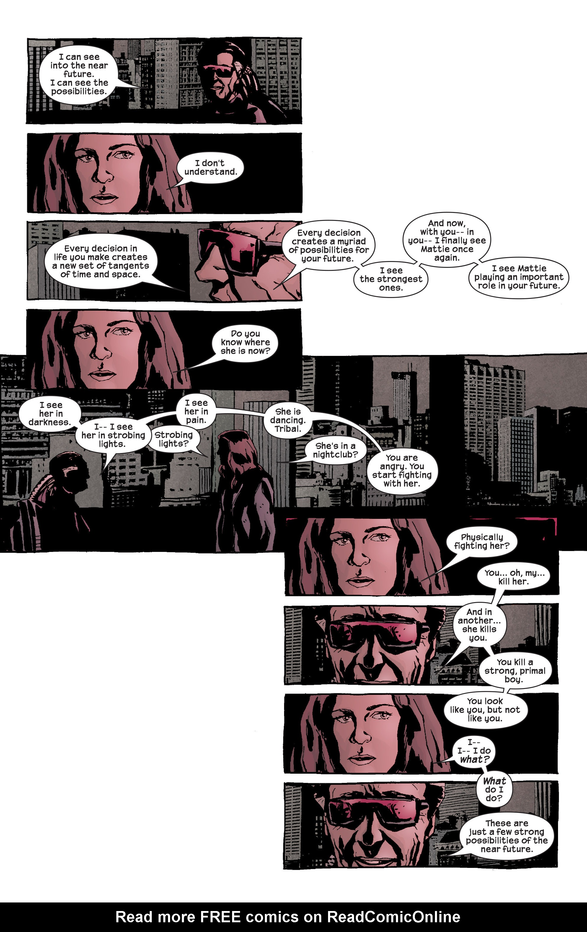 Read online Alias comic -  Issue #17 - 19