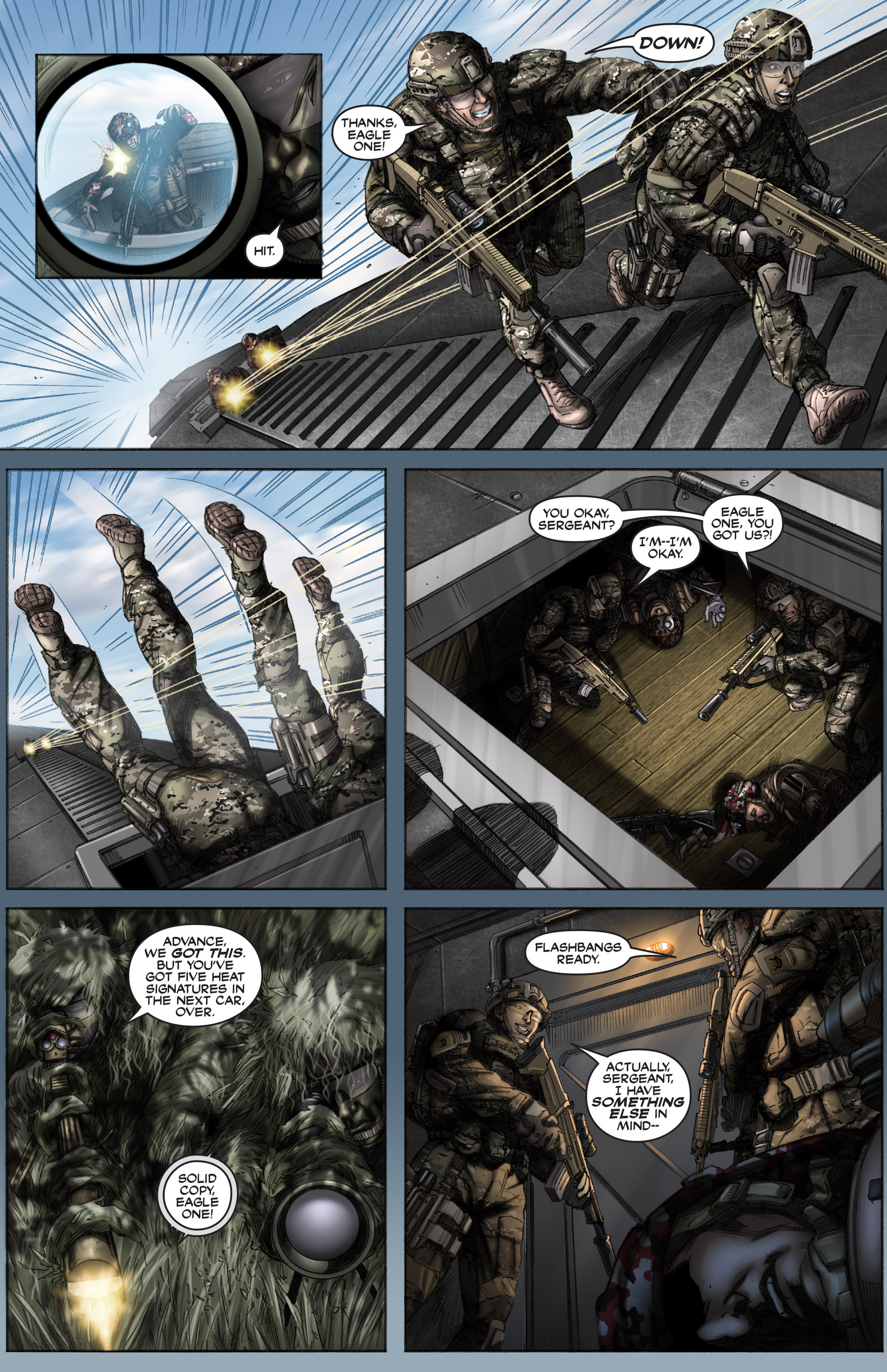 Read online America's Army comic -  Issue #12 - 13