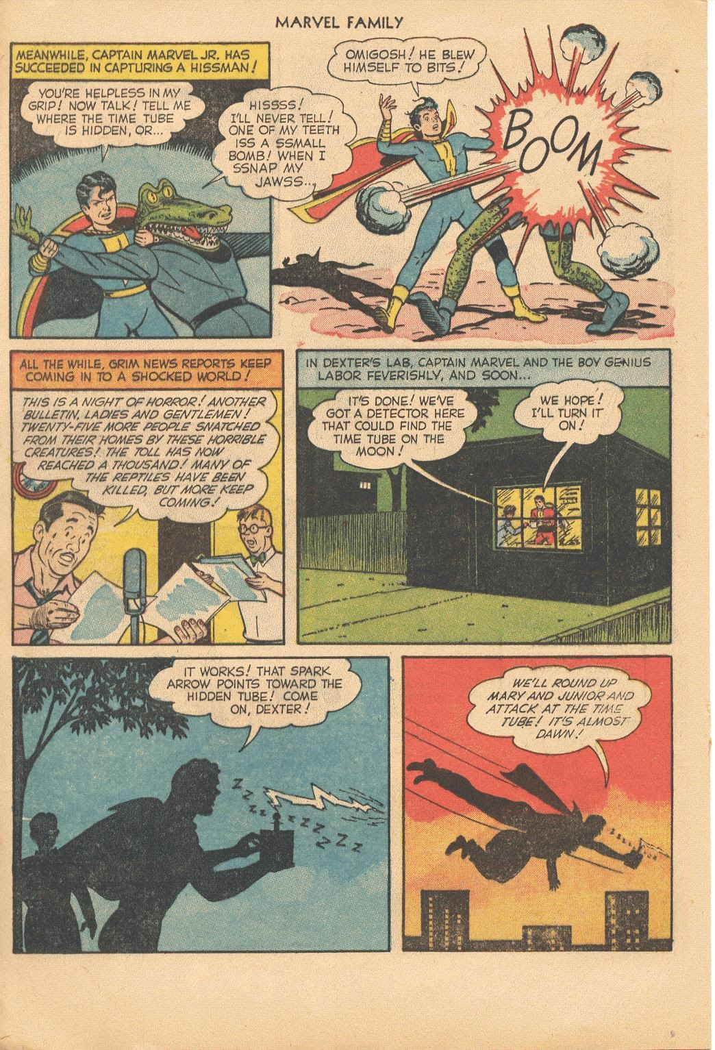 The Marvel Family issue 74 - Page 20