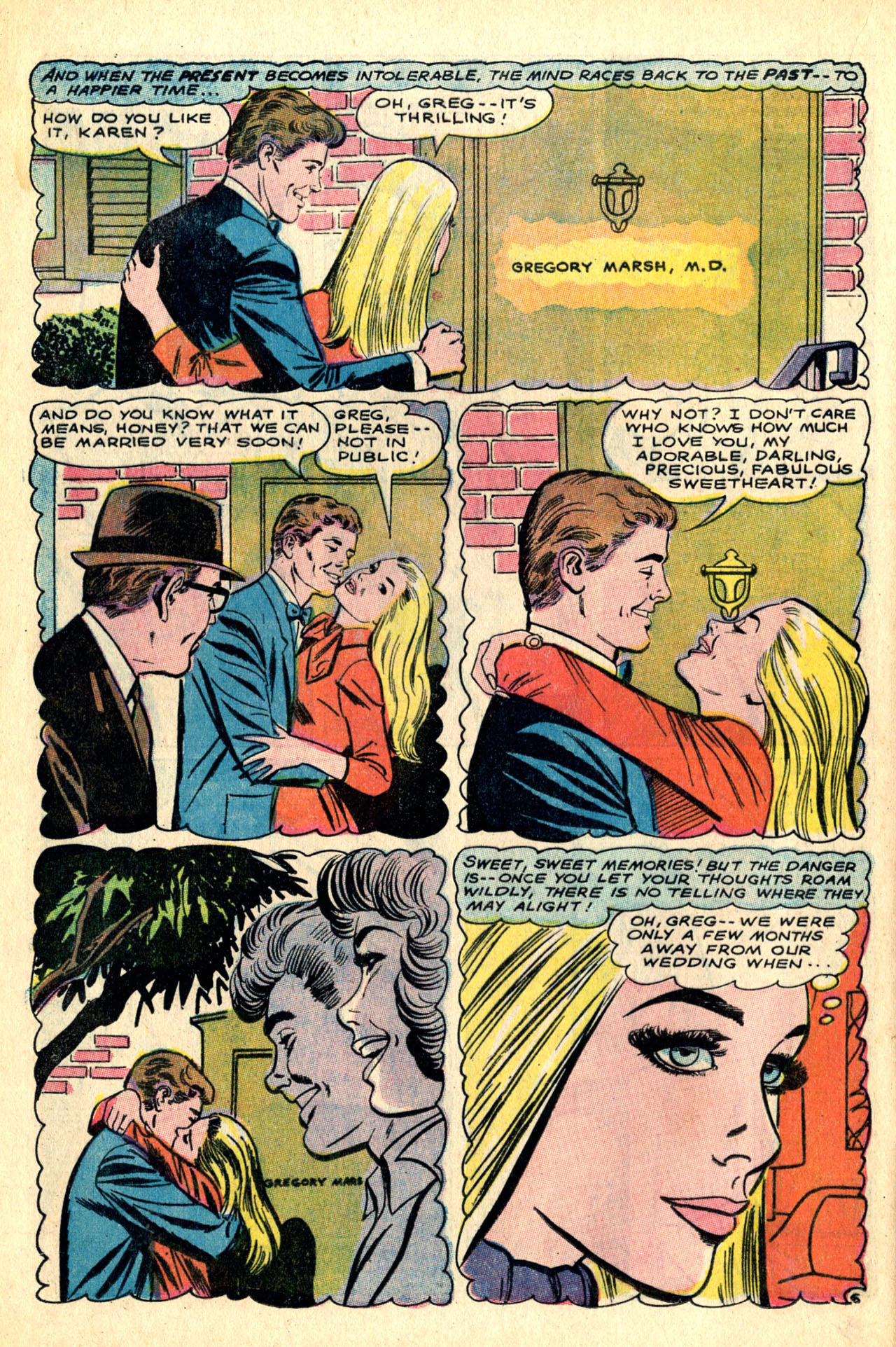 Read online Secret Hearts comic -  Issue #123 - 60