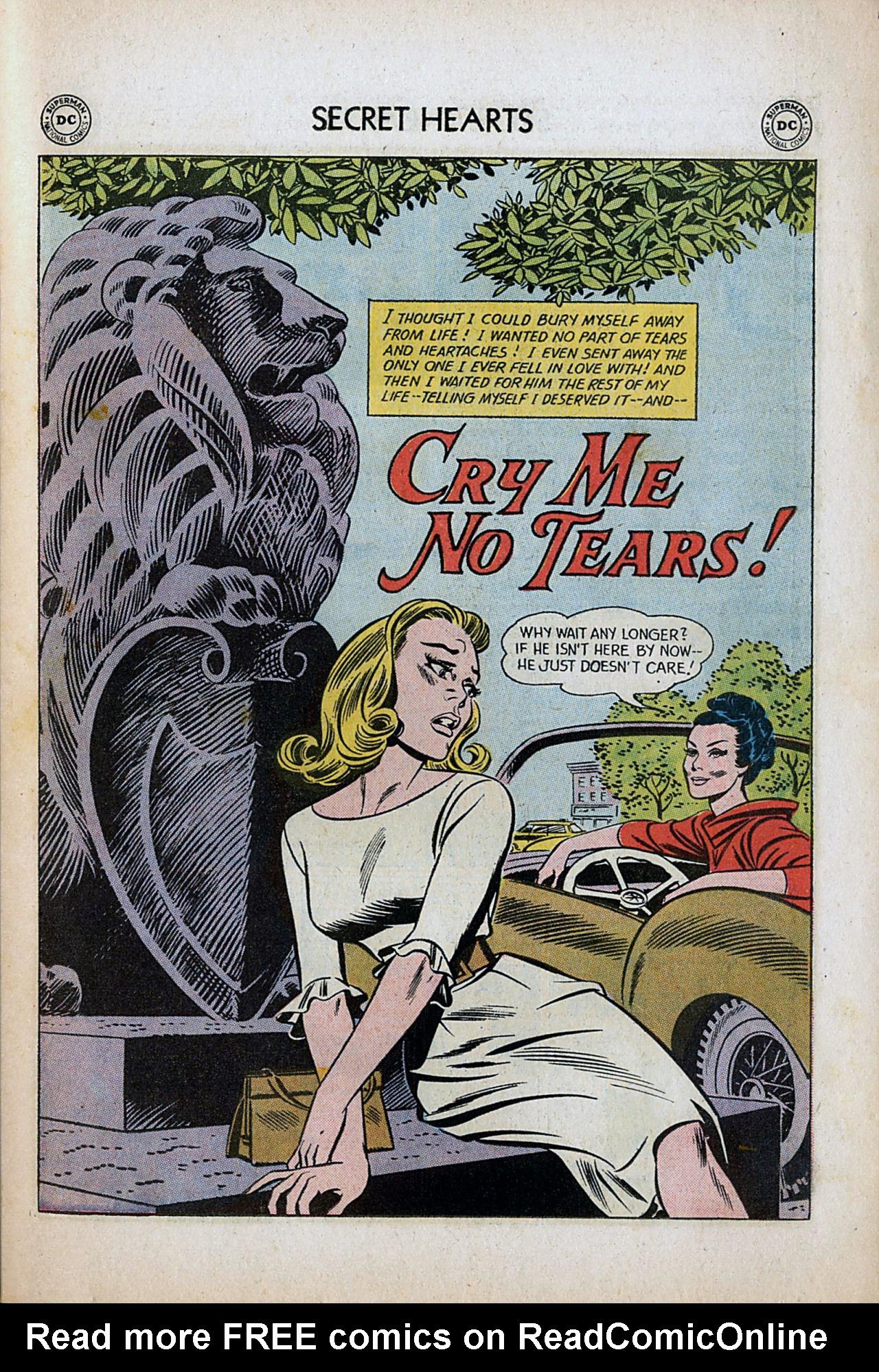 Read online Secret Hearts comic -  Issue #80 - 27