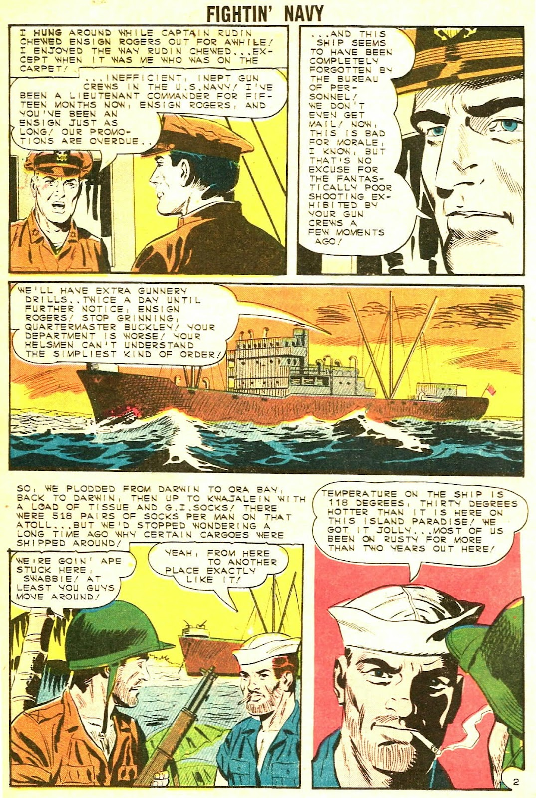 Read online Fightin' Navy comic -  Issue #117 - 16
