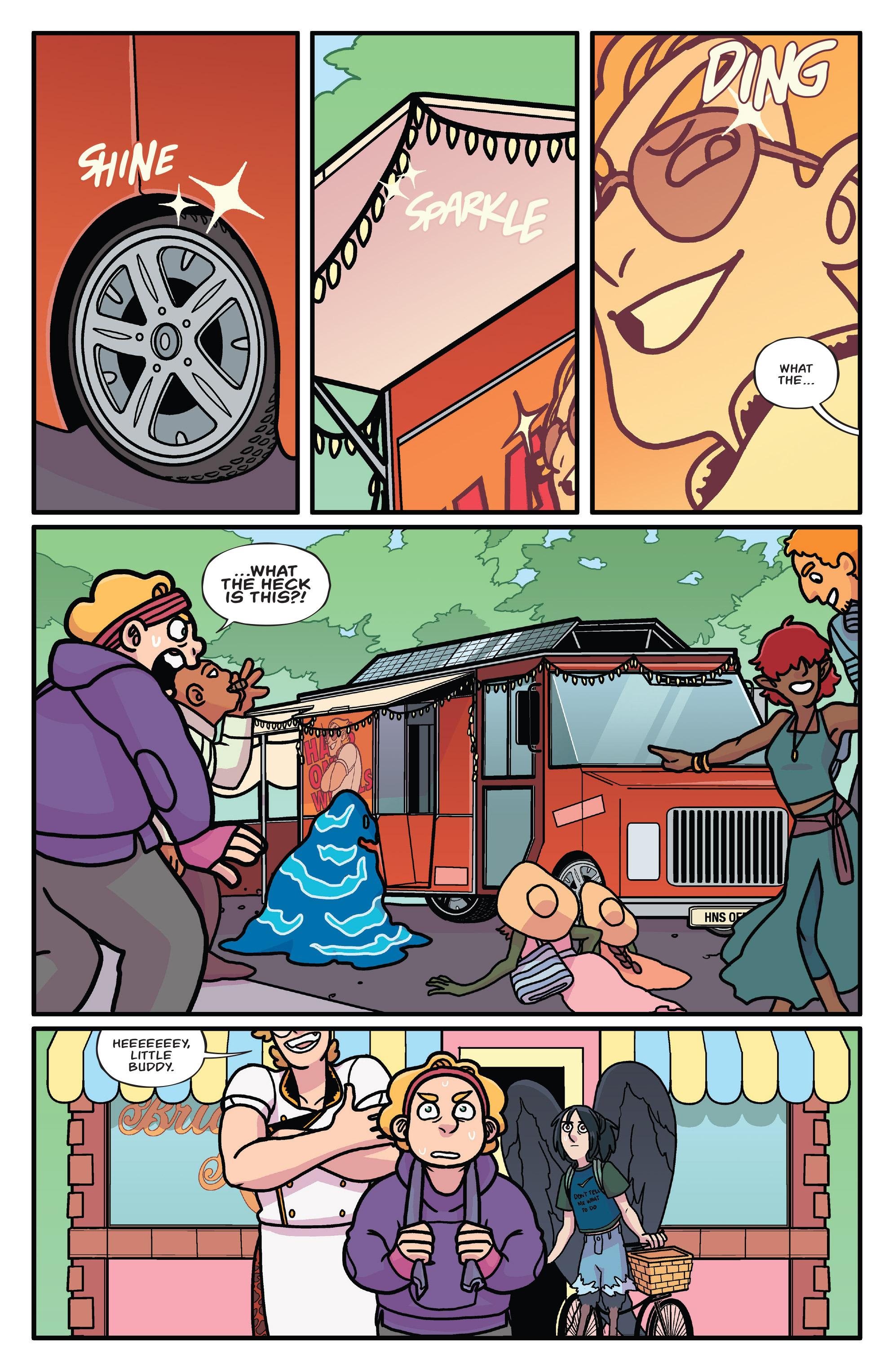 Read online Brave Chef Brianna comic -  Issue #3 - 4