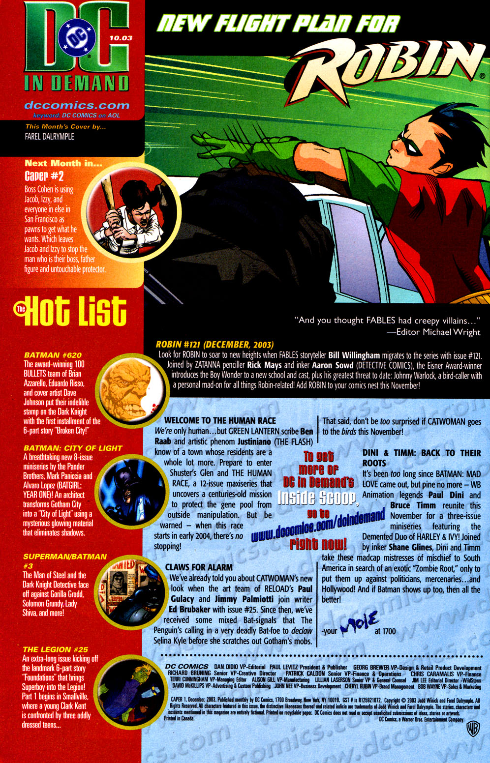 Read online Caper comic -  Issue #1 - 24