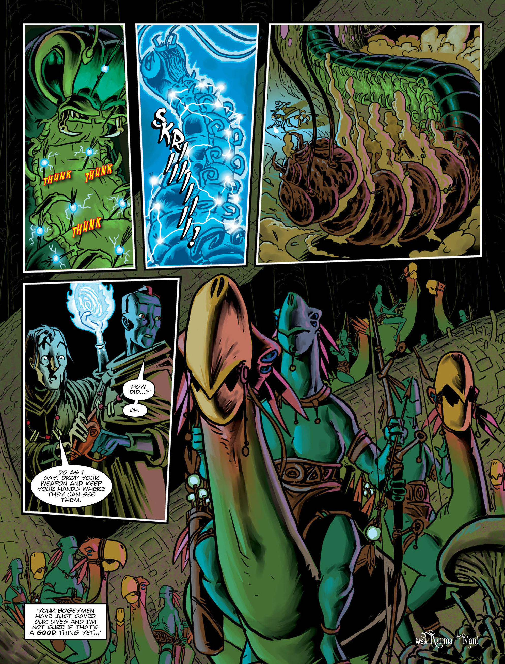 Read online 2000 AD comic -  Issue #1996 - 14