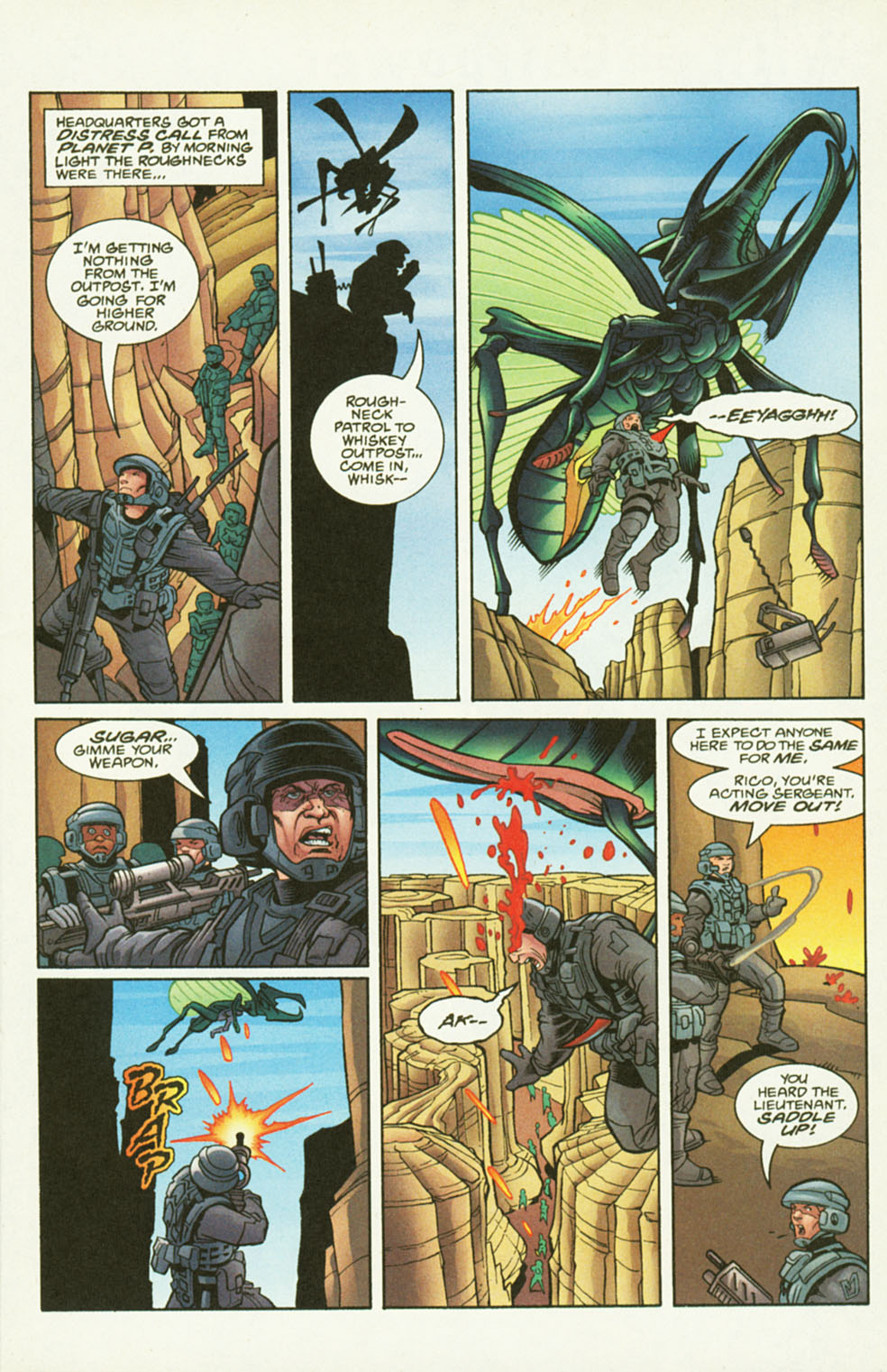 Read online Starship Troopers comic -  Issue #2 - 9