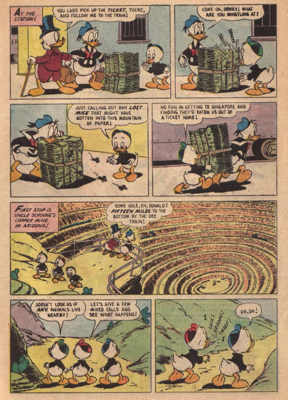 Read online Uncle Scrooge (1953) comic -  Issue #19 - 5