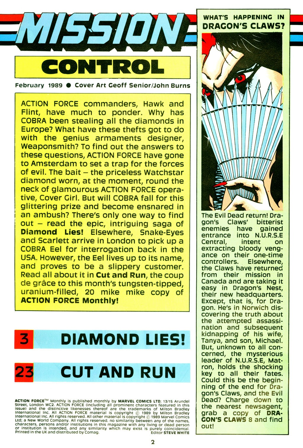 G.I. Joe European Missions issue 9 - Page 3