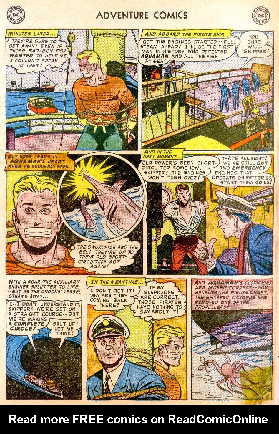 Read online Adventure Comics (1938) comic -  Issue #183 - 21