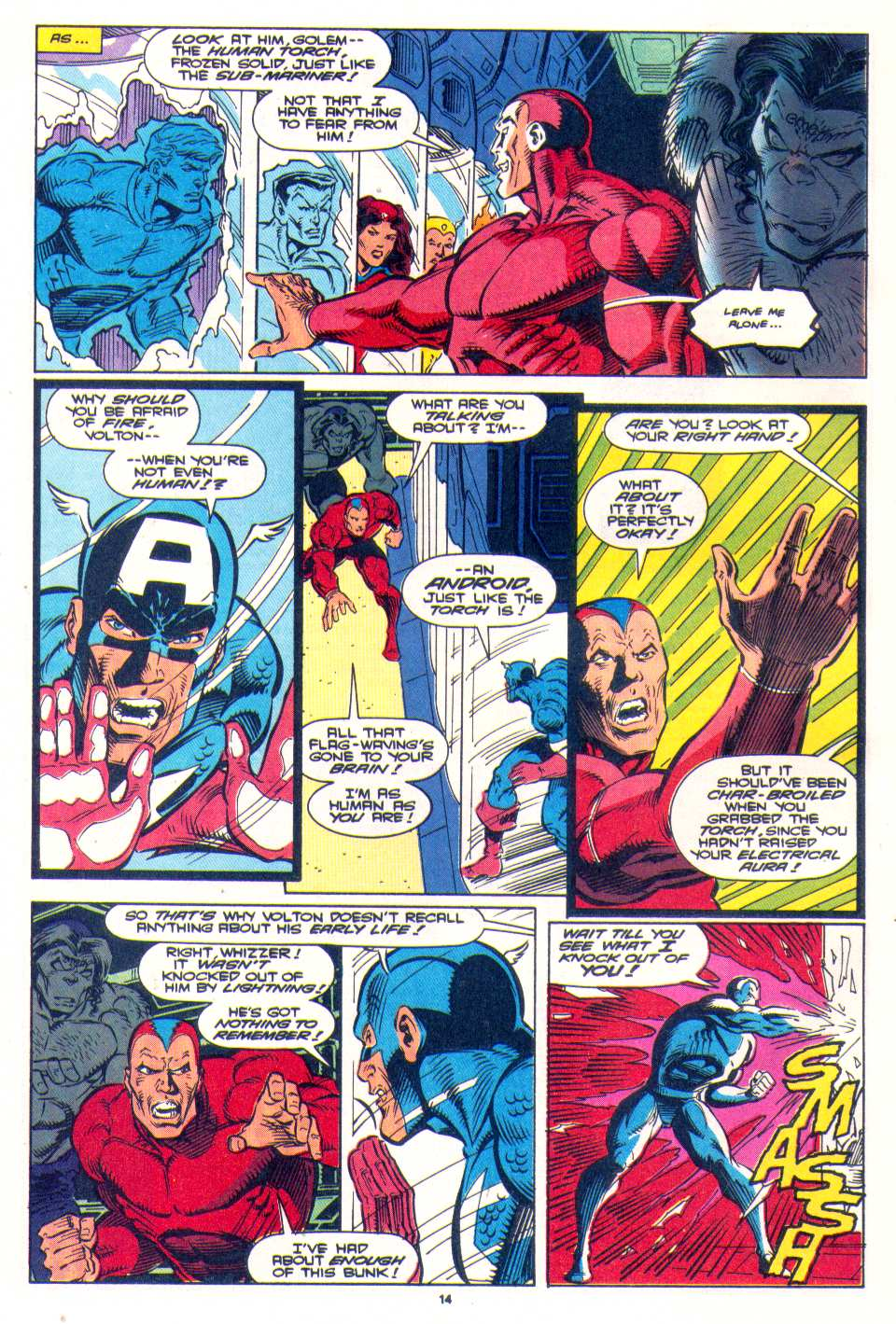 Read online The Invaders (1993) comic -  Issue #4 - 12