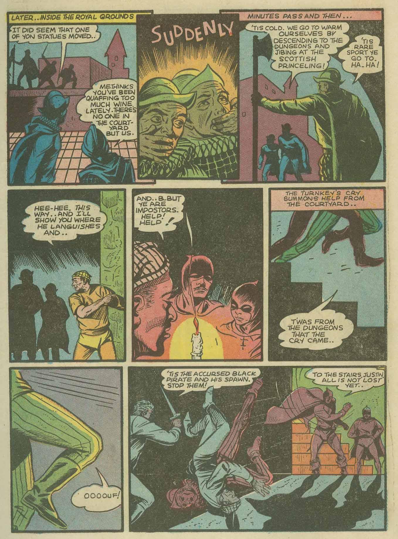 Read online Sensation (Mystery) Comics comic -  Issue #9 - 19