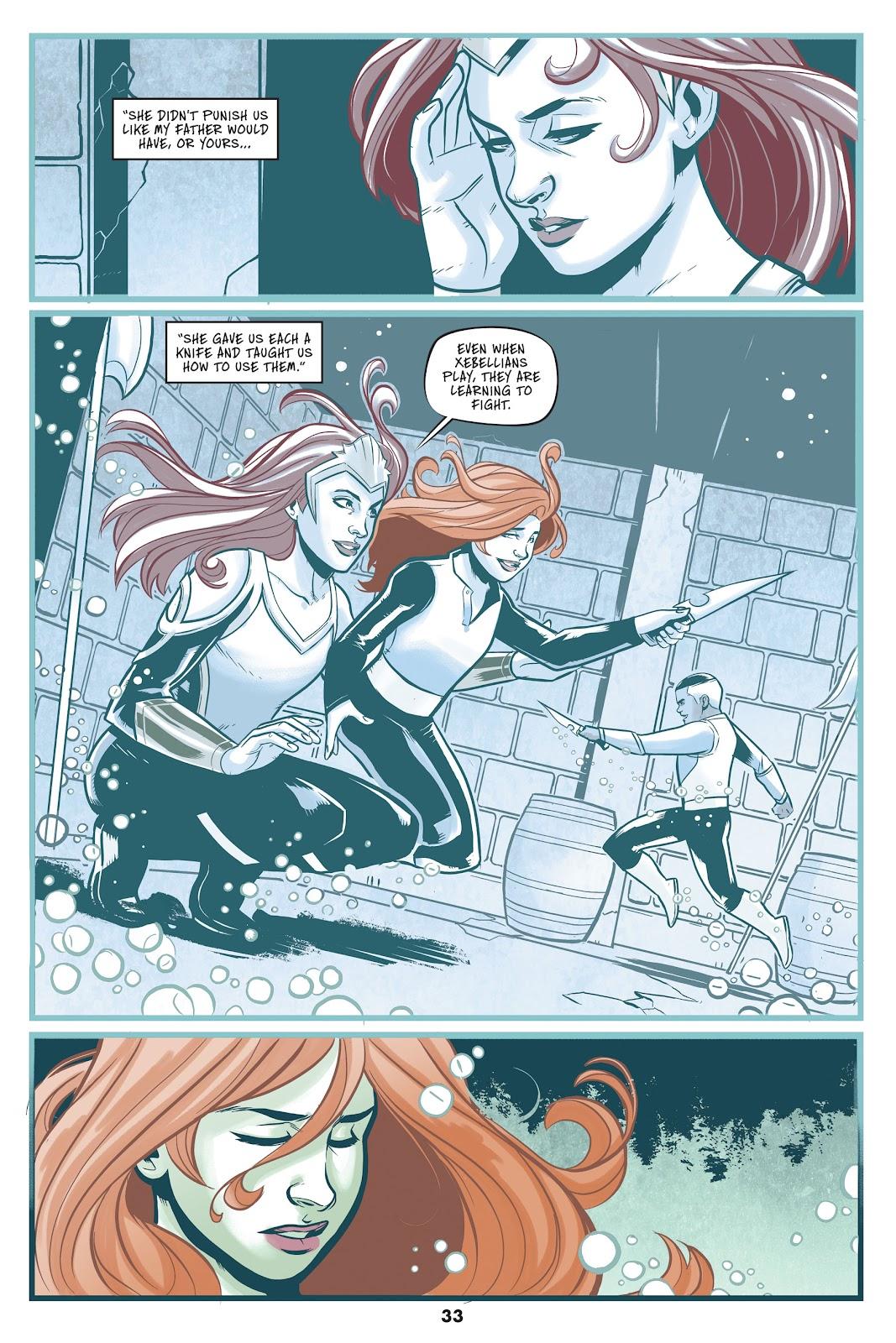 Read online Mera: Tidebreaker comic -  Issue # TPB (Part 1) - 33