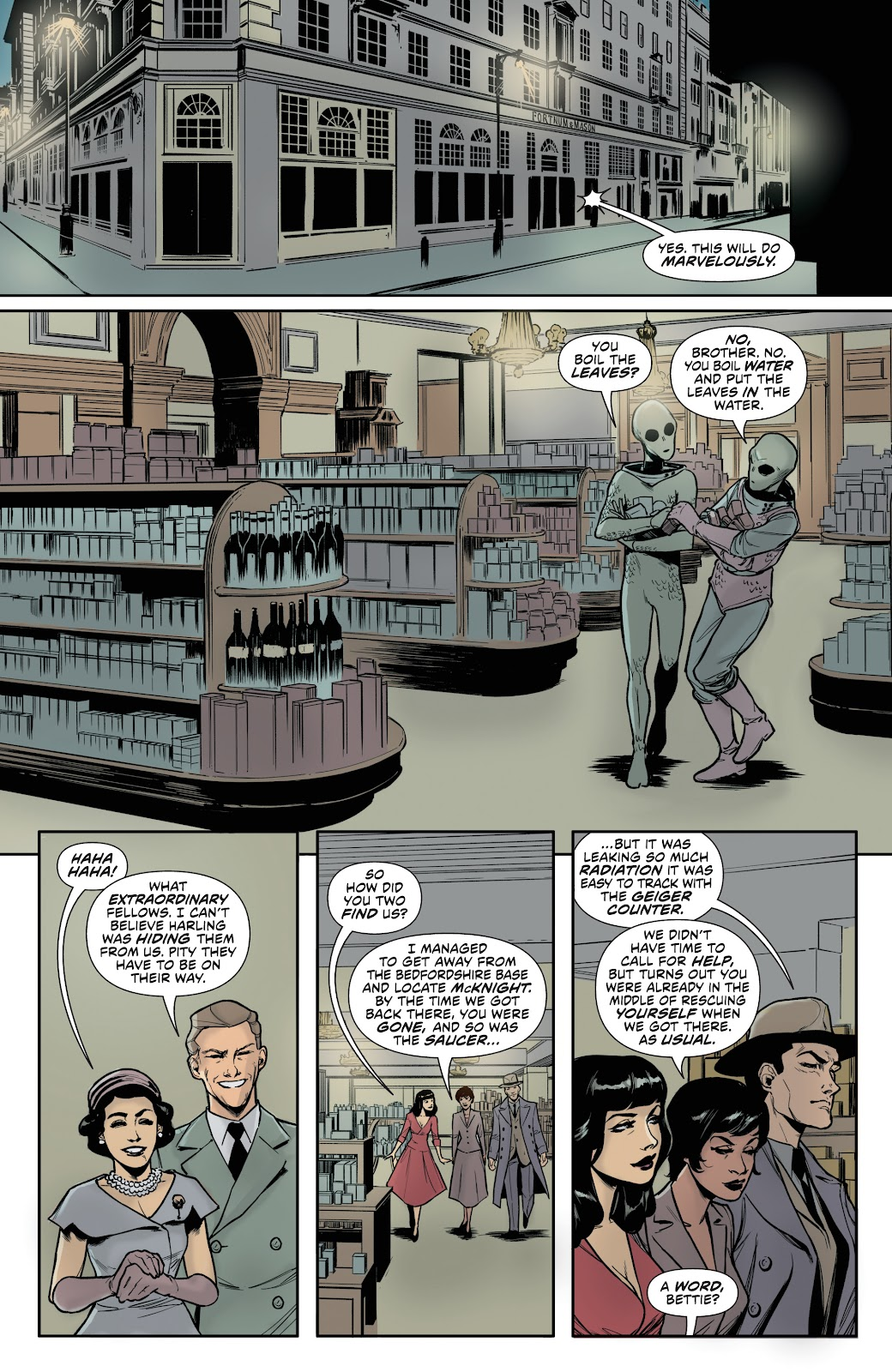 Read online Bettie Page (2018) comic -  Issue #4 - 24