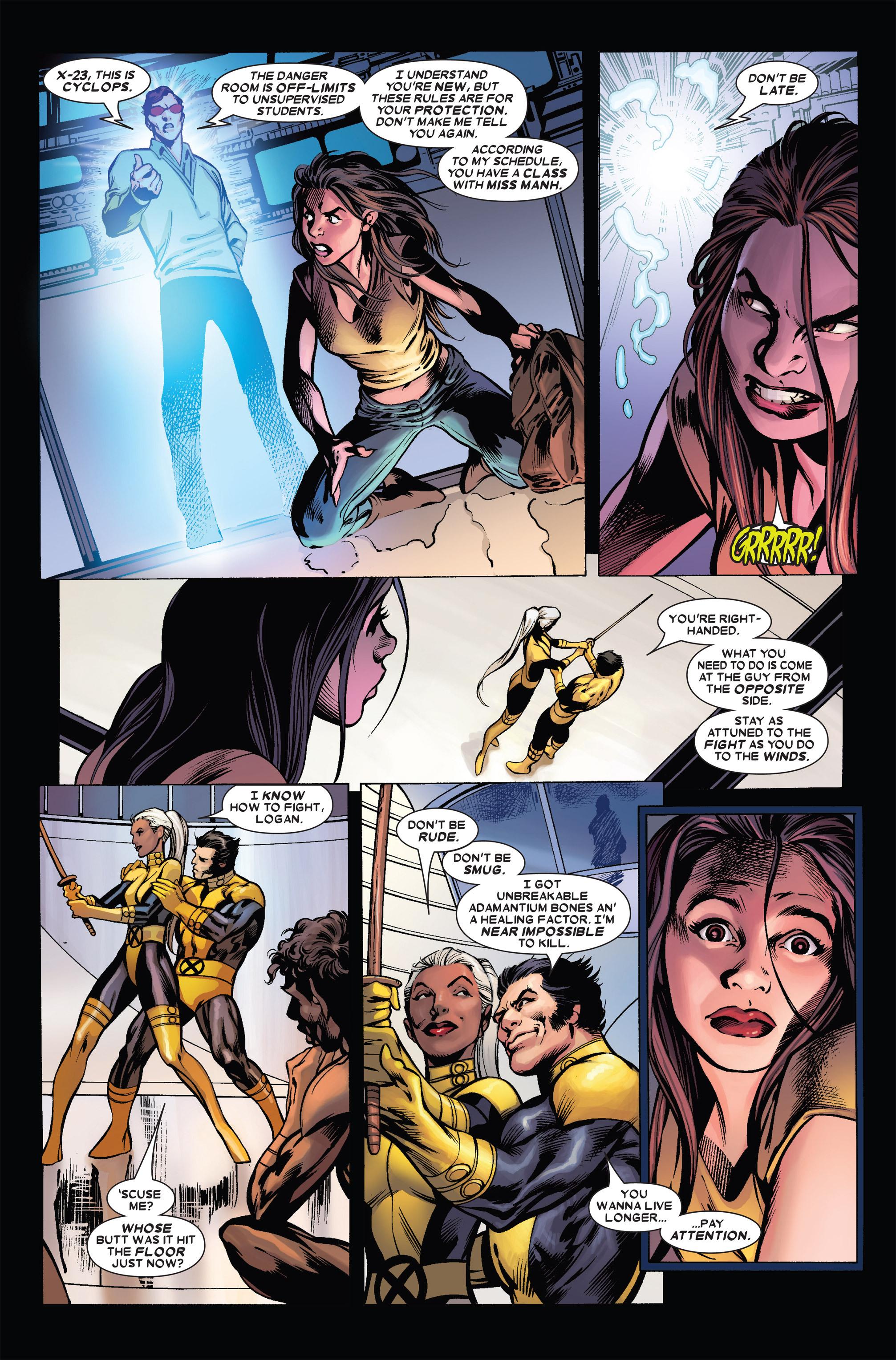 Read online Uncanny X-Men (1963) comic -  Issue #455 - 7