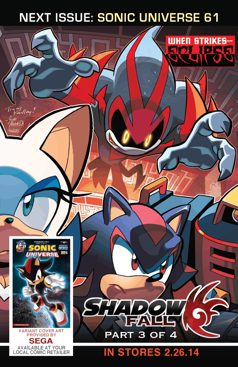 Read online Sonic Universe comic -  Issue #60 - 26
