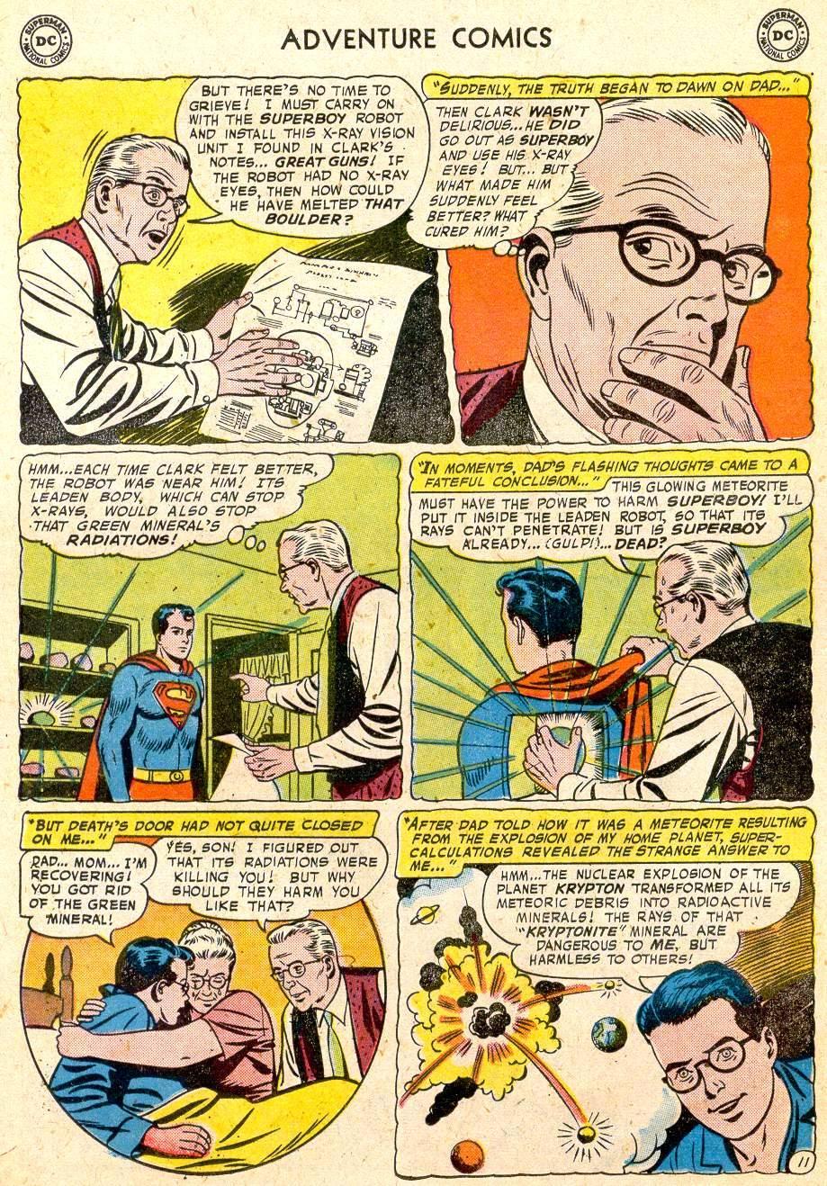 Read online Adventure Comics (1938) comic -  Issue #251 - 13