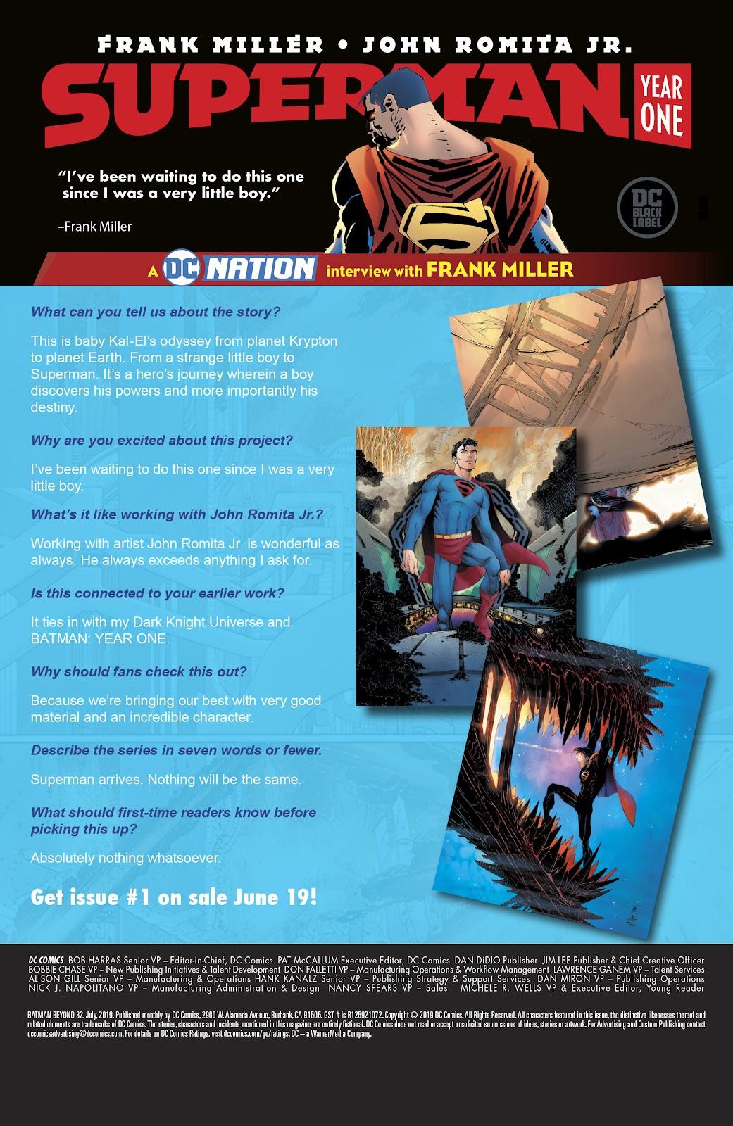 Read online Batman Beyond (2016) comic -  Issue #32 - 24