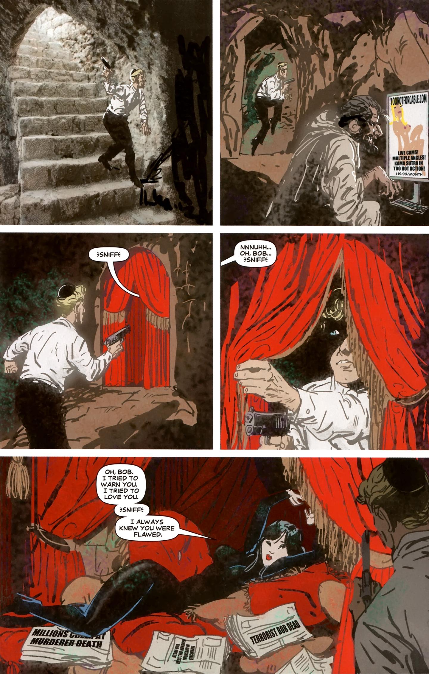 Read online Deadpool MAX X-Mas Special comic -  Issue # Full - 16
