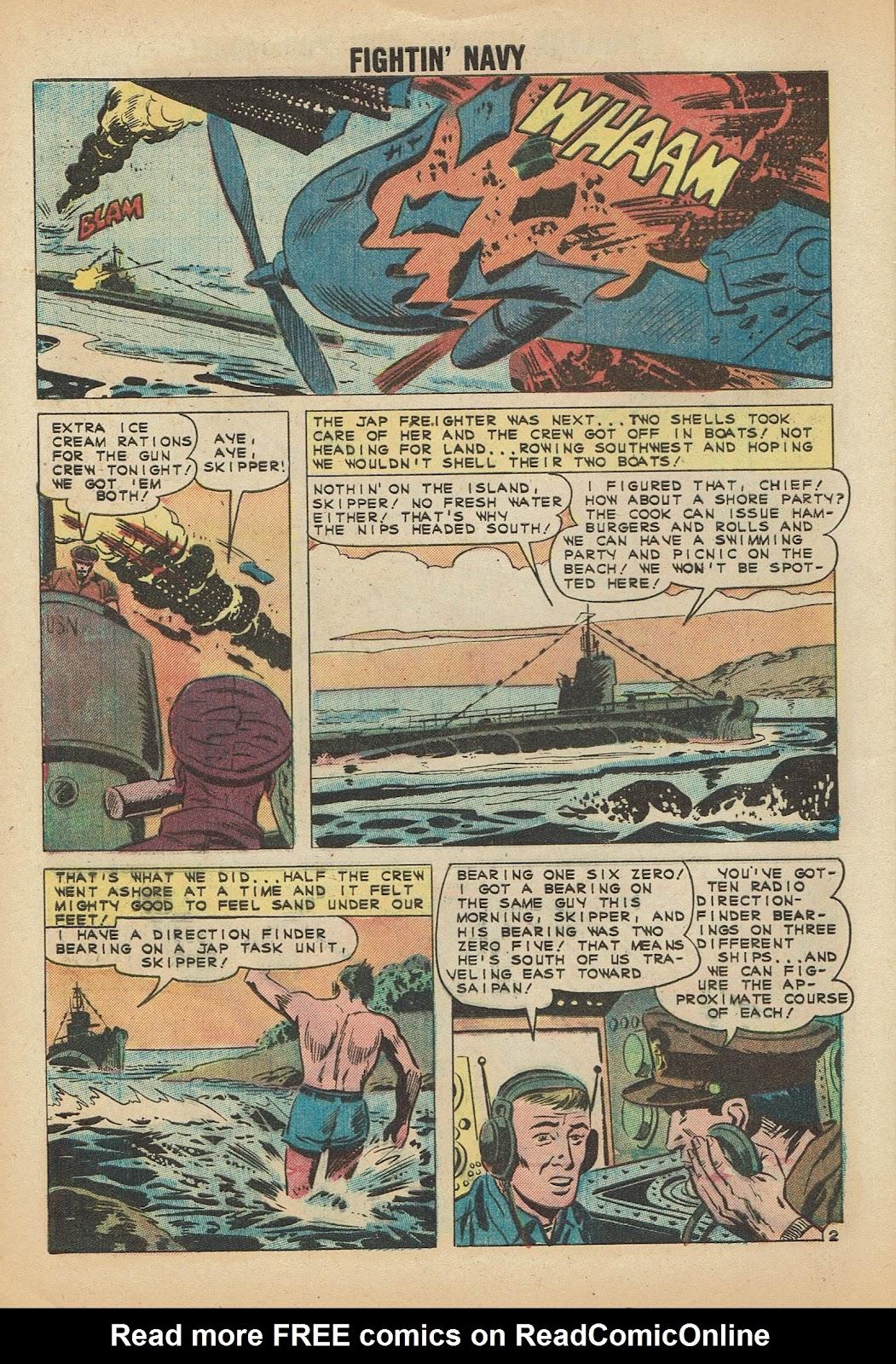 Read online Fightin' Navy comic -  Issue #97 - 4