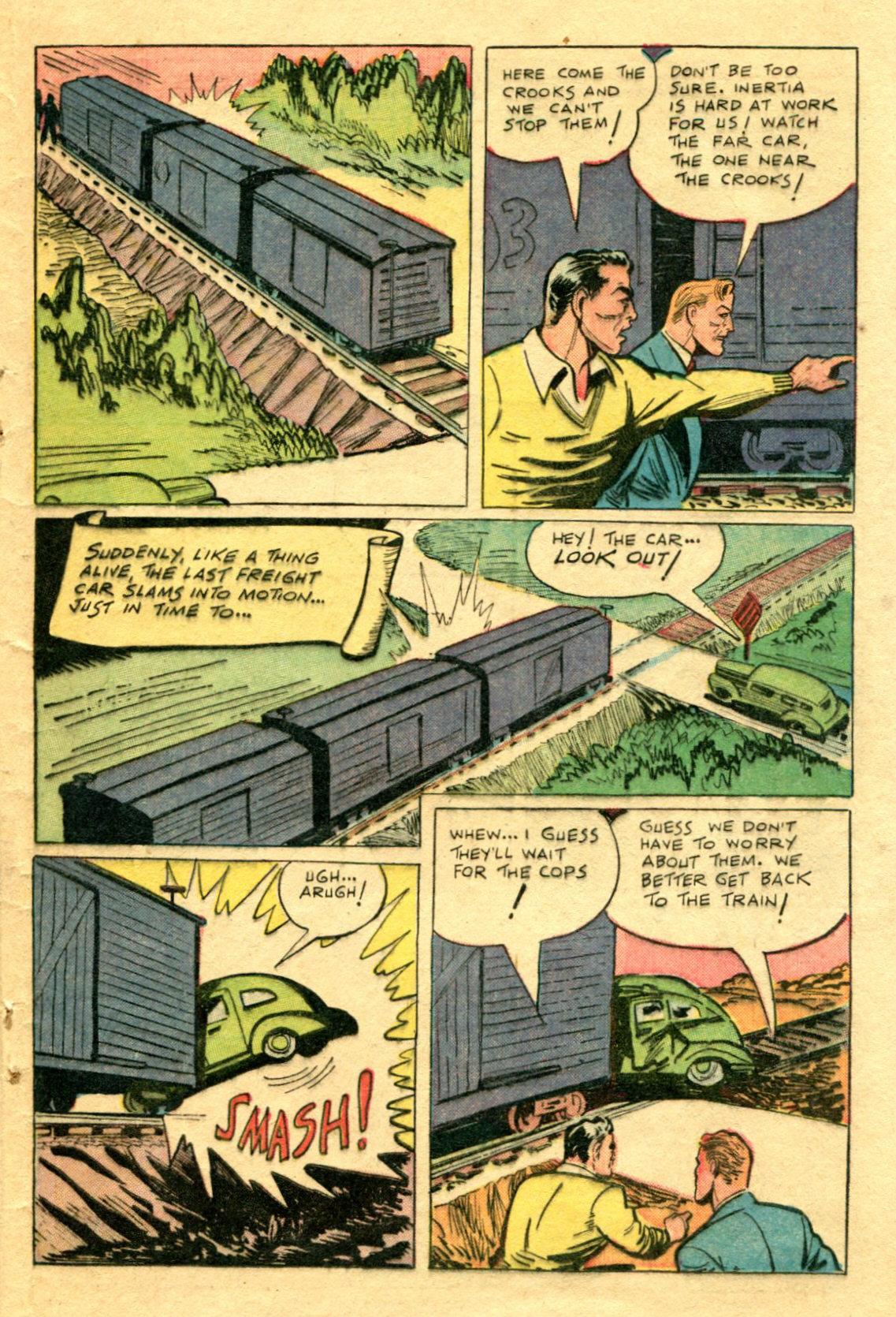 Read online Shadow Comics comic -  Issue #75 - 36