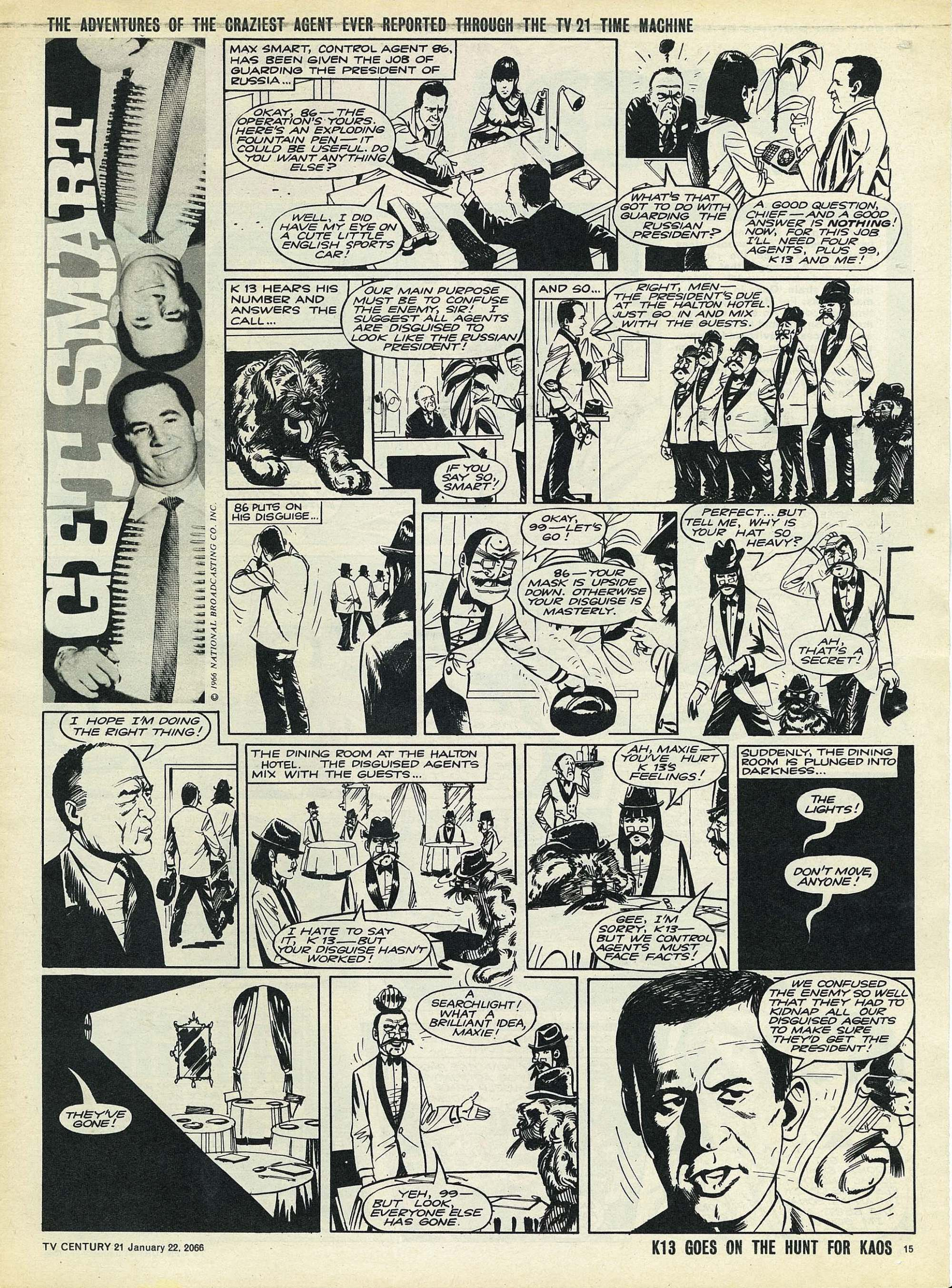 Read online TV Century 21 (TV 21) comic -  Issue #53 - 14