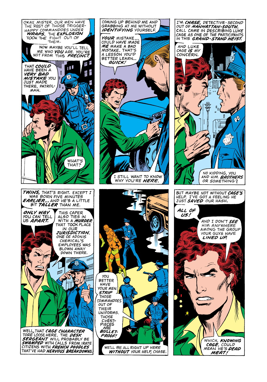 Read online Marvel Masterworks: Luke Cage, Power Man comic -  Issue # TPB 2 (Part 3) - 85