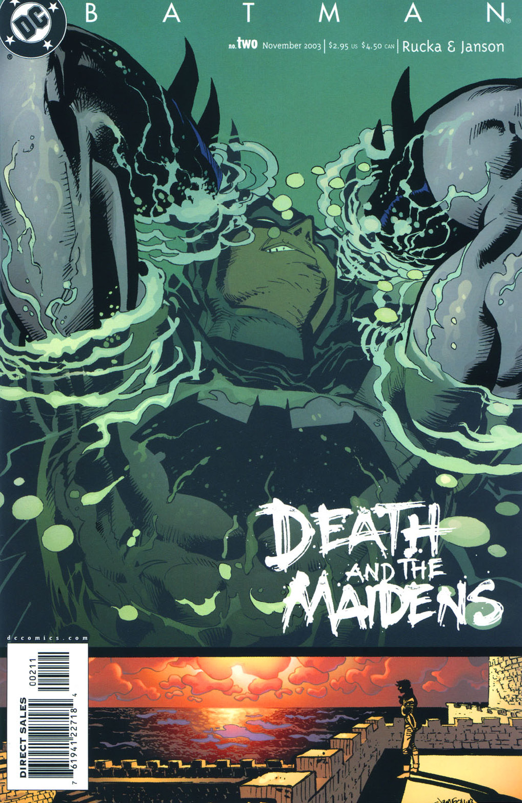 Batman: Death and the Maidens 2 Page 1