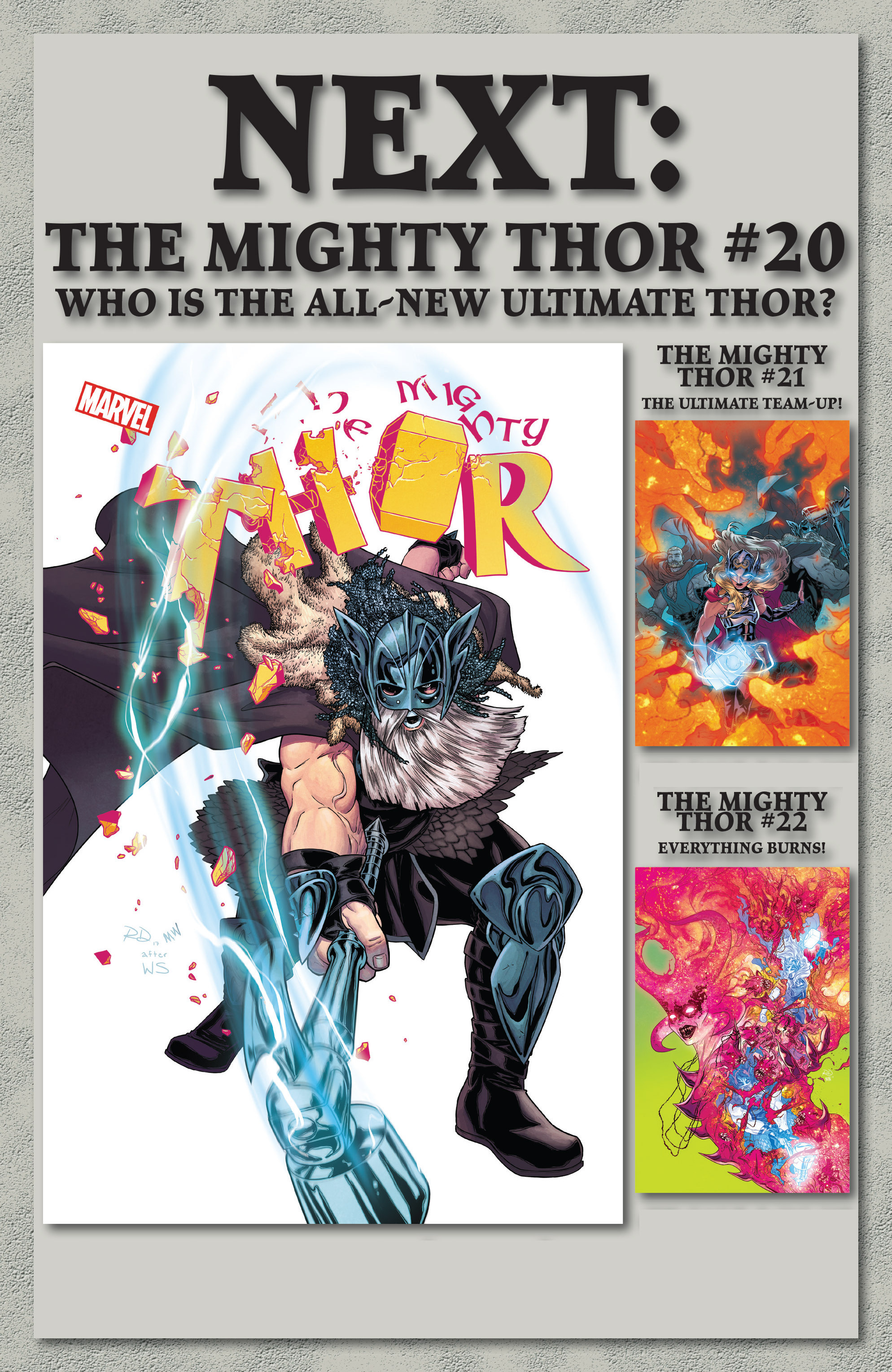 Read online Mighty Thor (2016) comic -  Issue #19 - 23