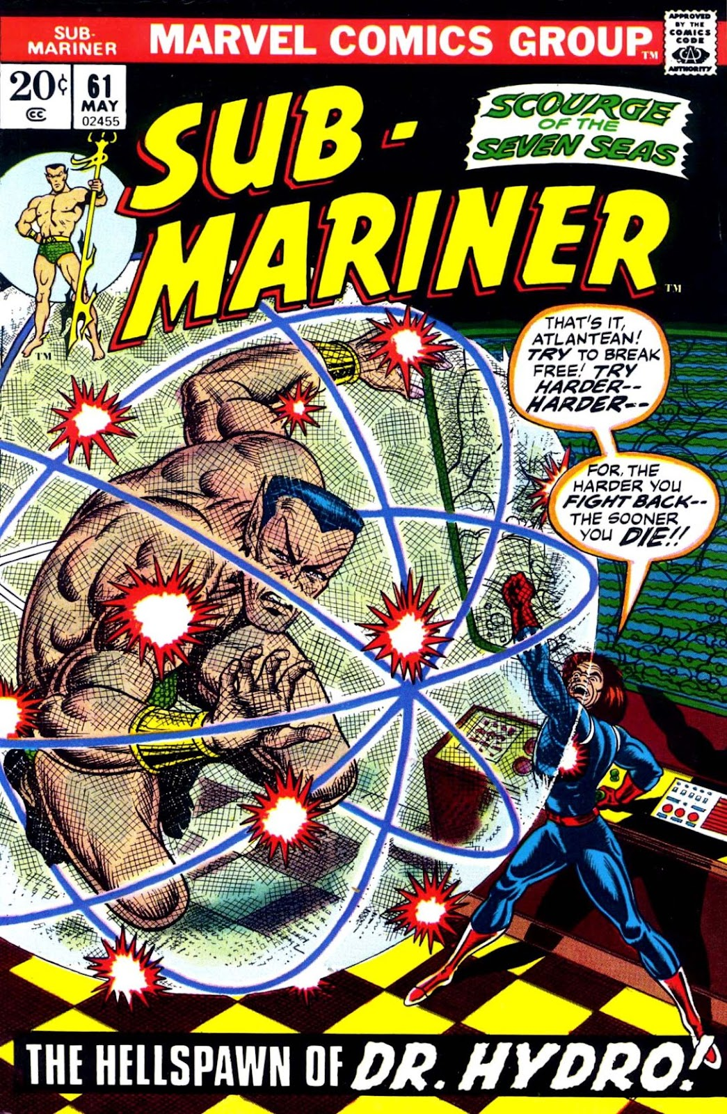 The Sub-Mariner 61 Page 1