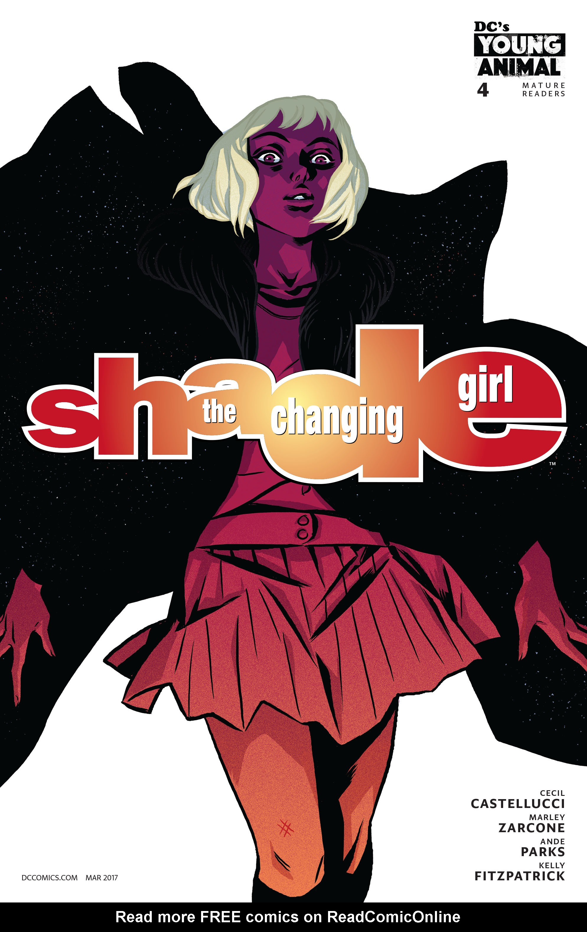 Read online Shade, the Changing Girl comic -  Issue #4 - 1
