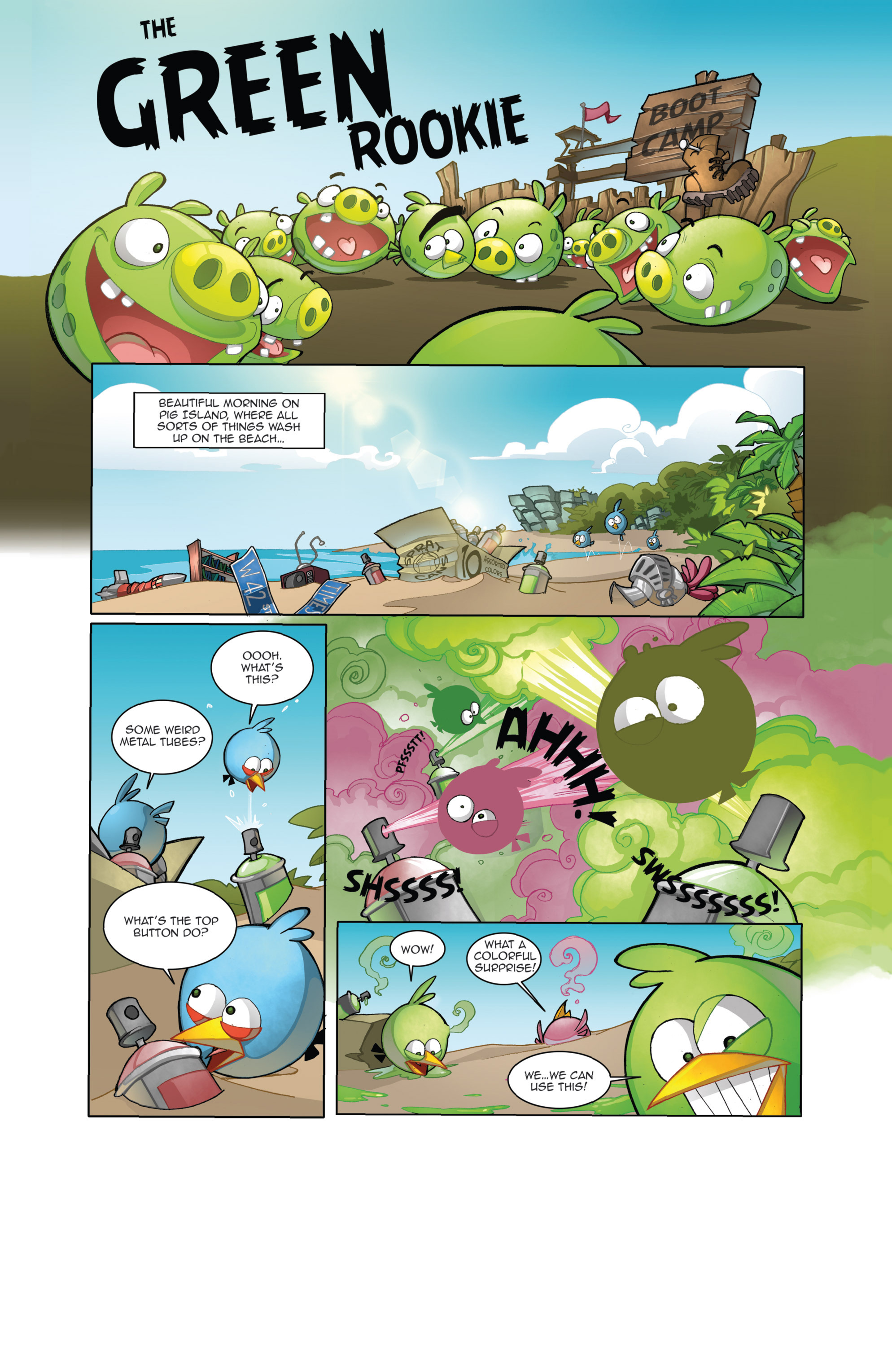 Read online Angry Birds Comics (2014) comic -  Issue #4 - 3