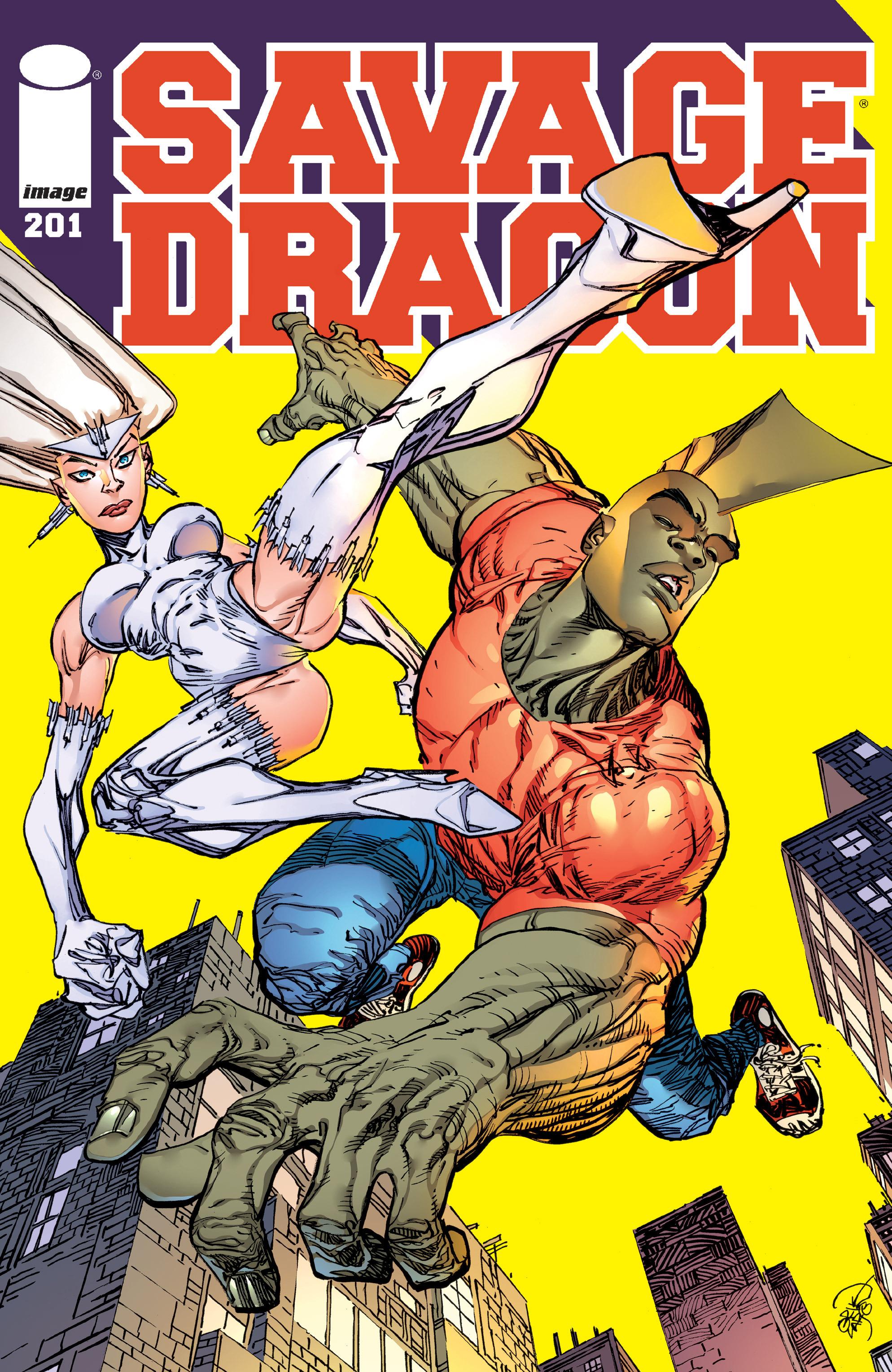 The Savage Dragon (1993) 201 Page 1