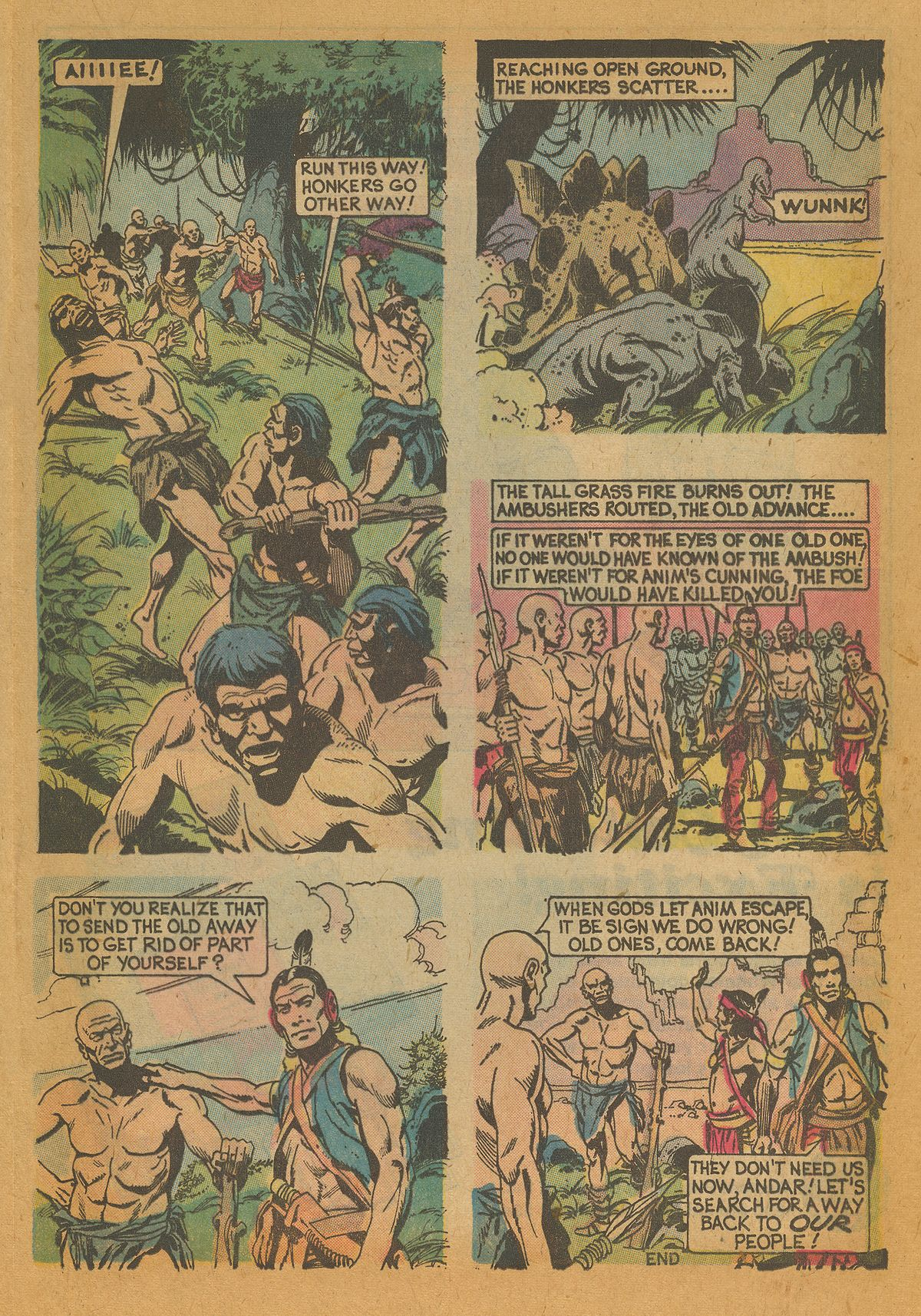 Read online Turok, Son of Stone comic -  Issue #112 - 17