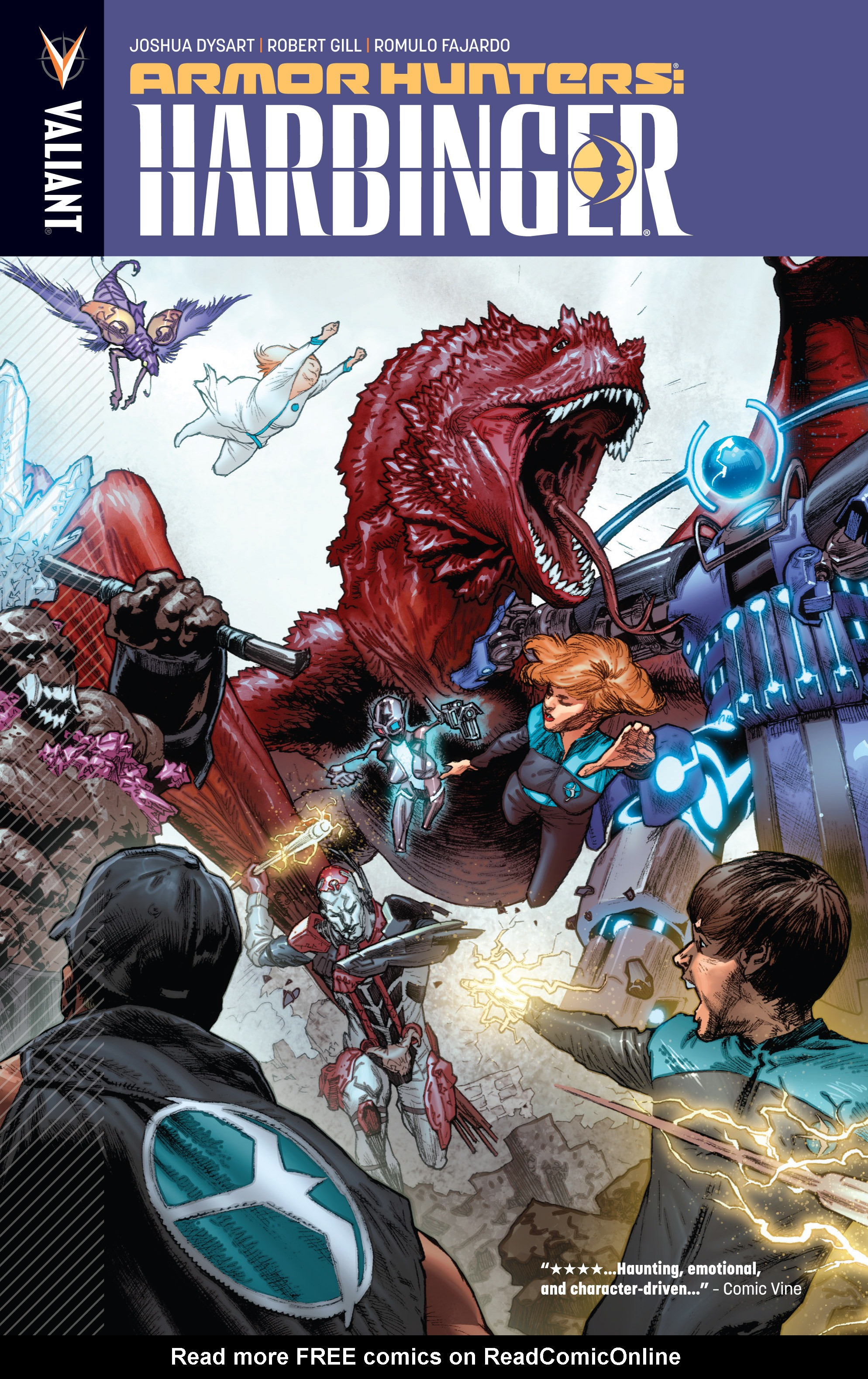 Read online Armor Hunters: Harbinger comic -  Issue # TPB - 1