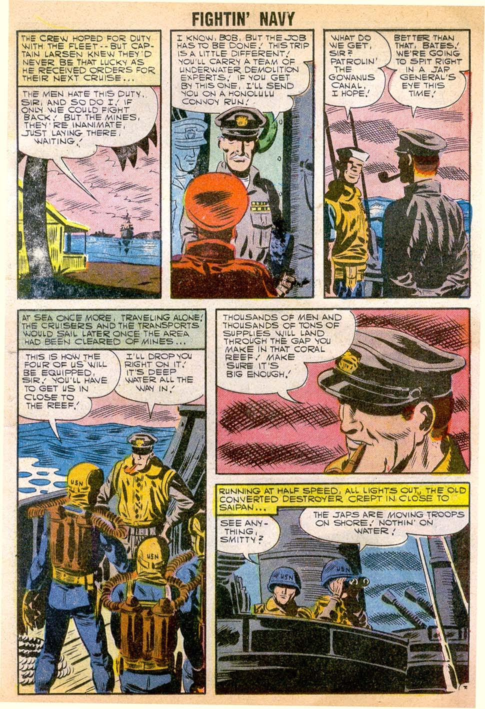 Read online Fightin' Navy comic -  Issue #79 - 13