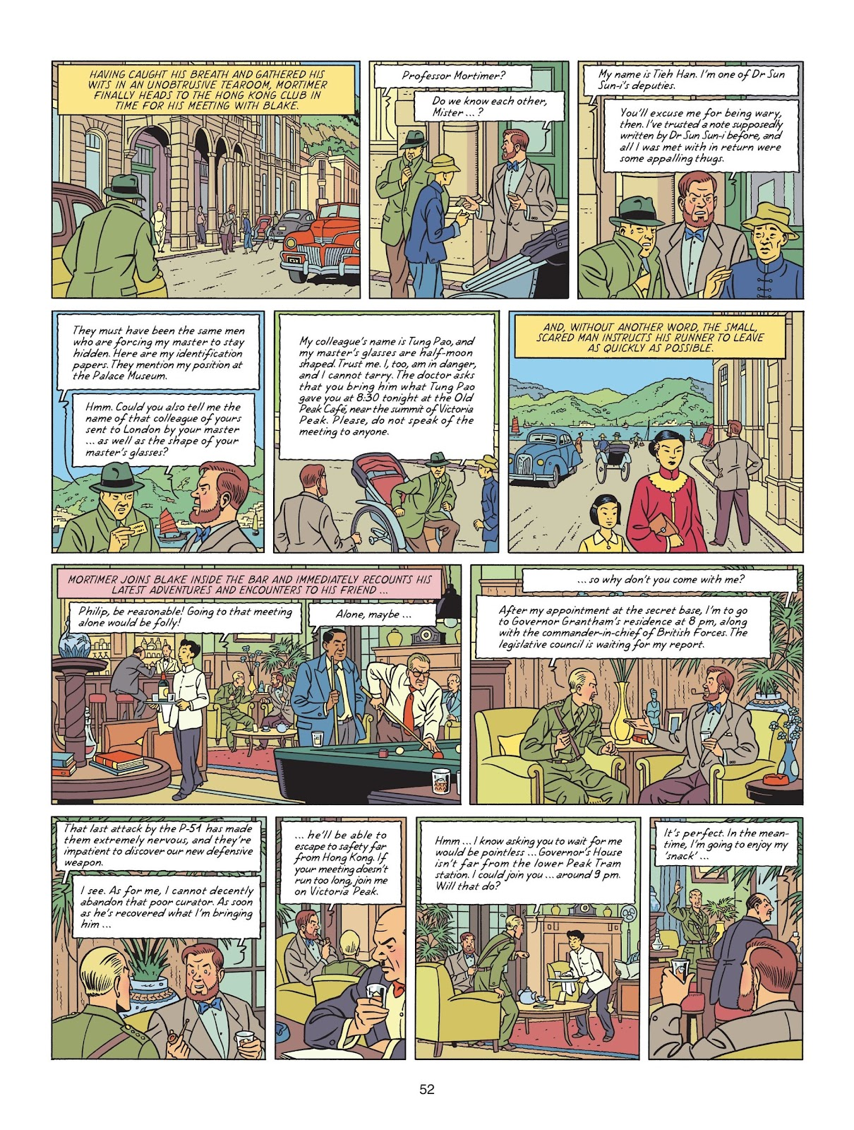 Read online Blake & Mortimer comic -  Issue #25 - 54