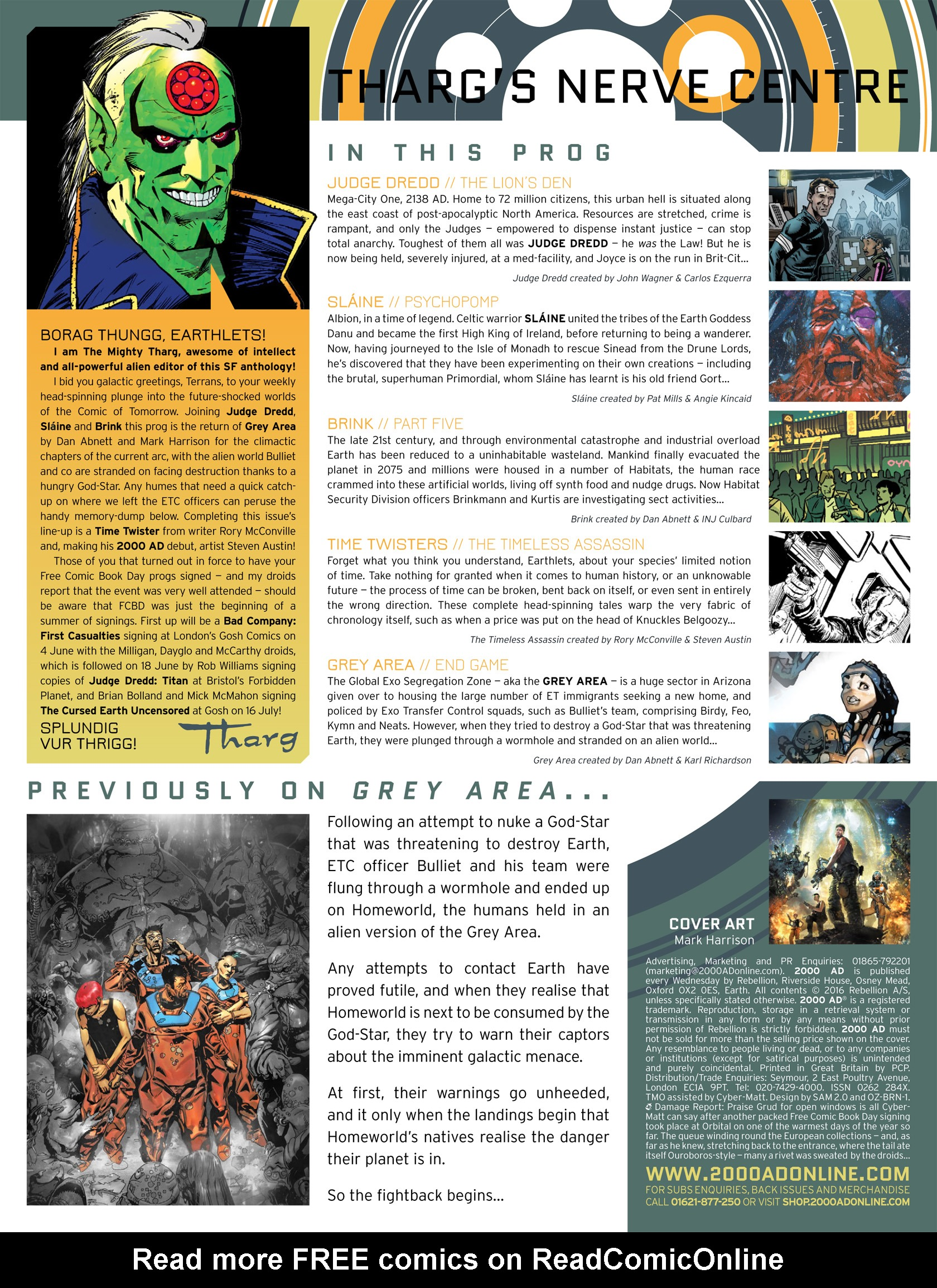 Read online 2000 AD comic -  Issue #1982 - 2