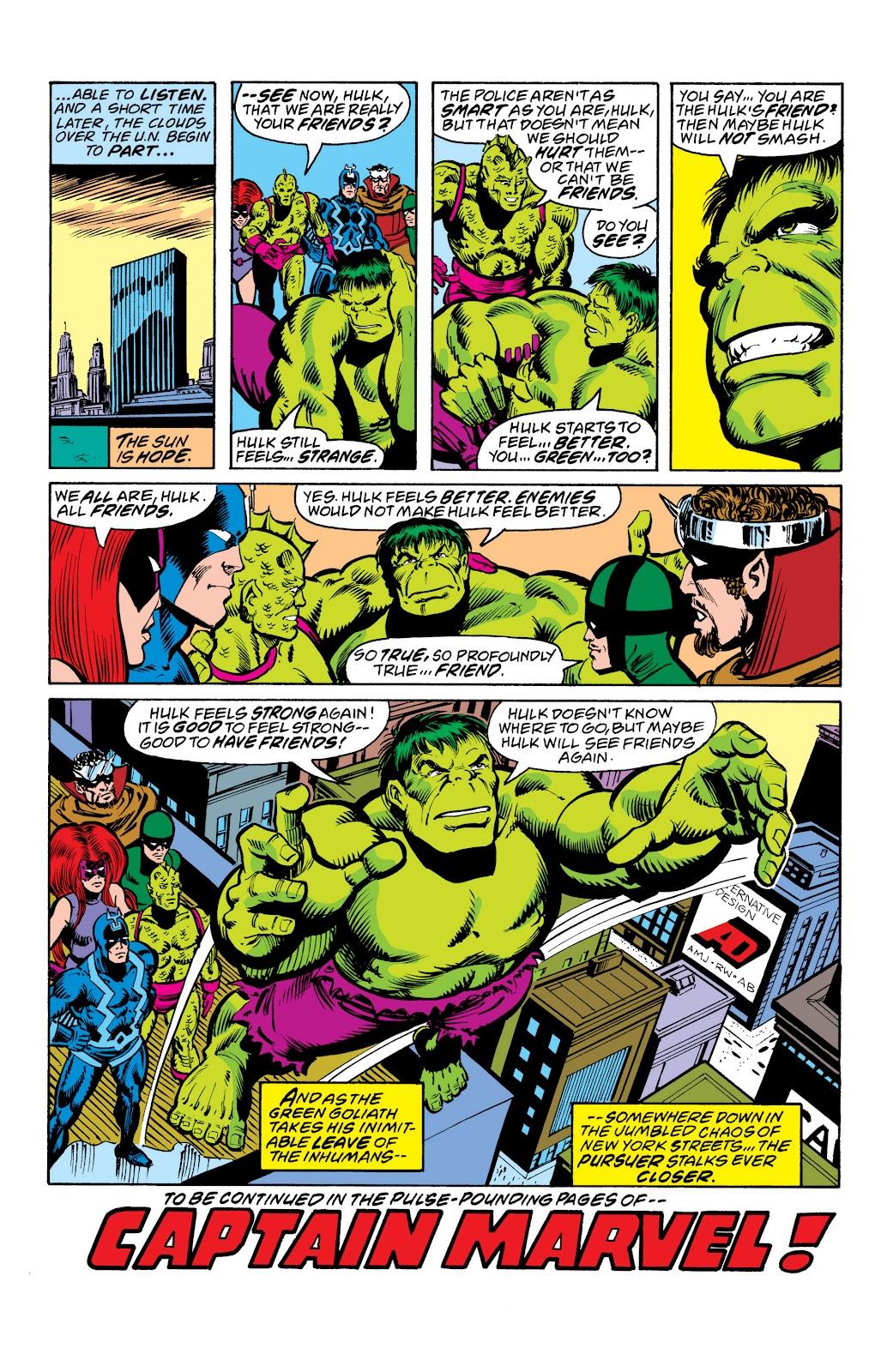 Read online Marvel Masterworks: The Inhumans comic -  Issue # TPB 2 (Part 3) - 9