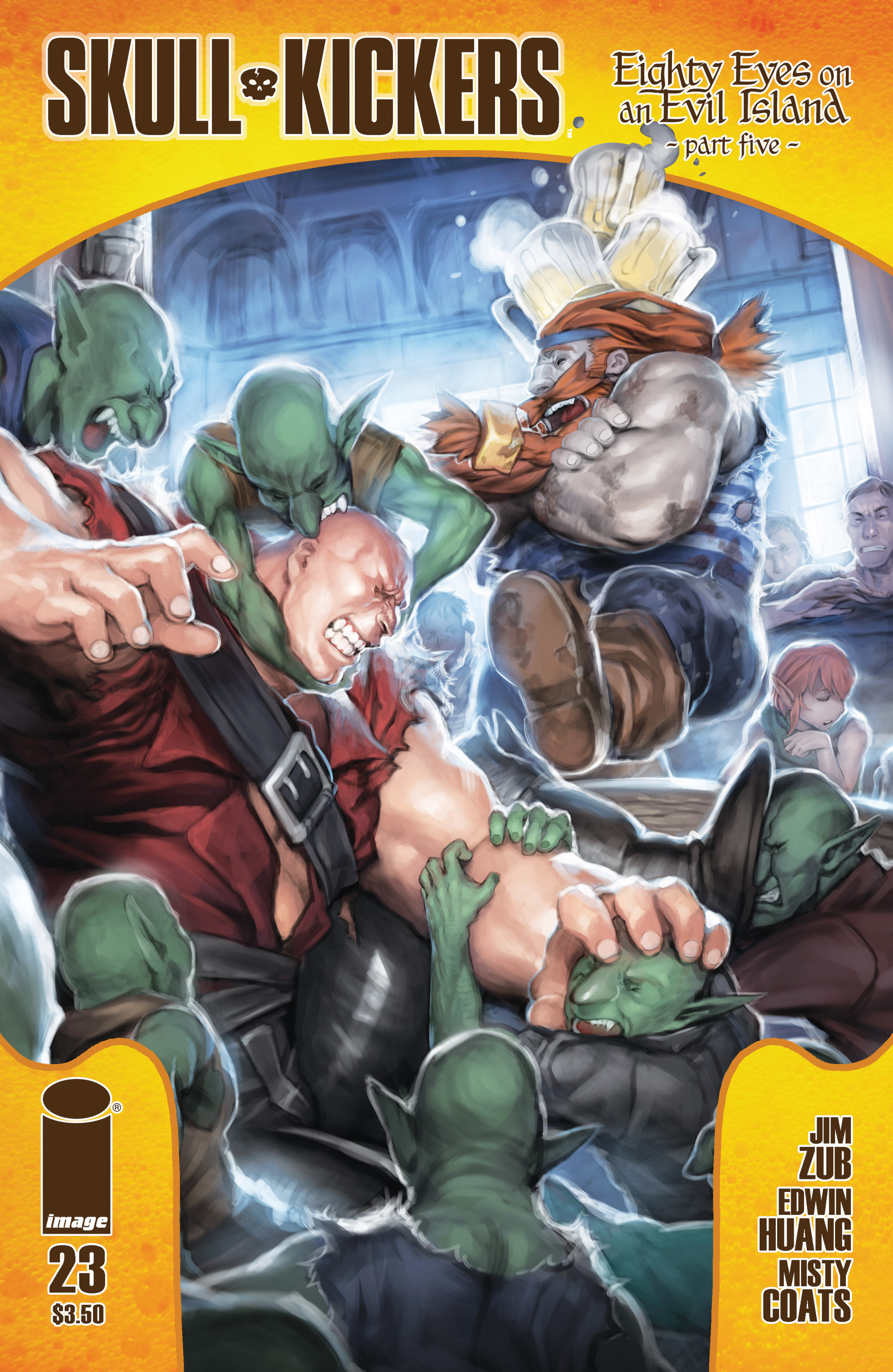 Read online Skullkickers comic -  Issue #23 - 32