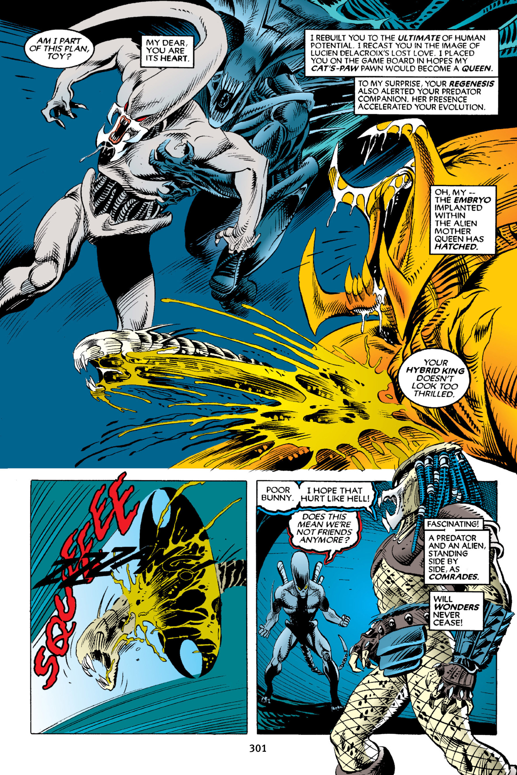 Read online Aliens vs. Predator Omnibus comic -  Issue # _TPB 2 Part 3 - 76