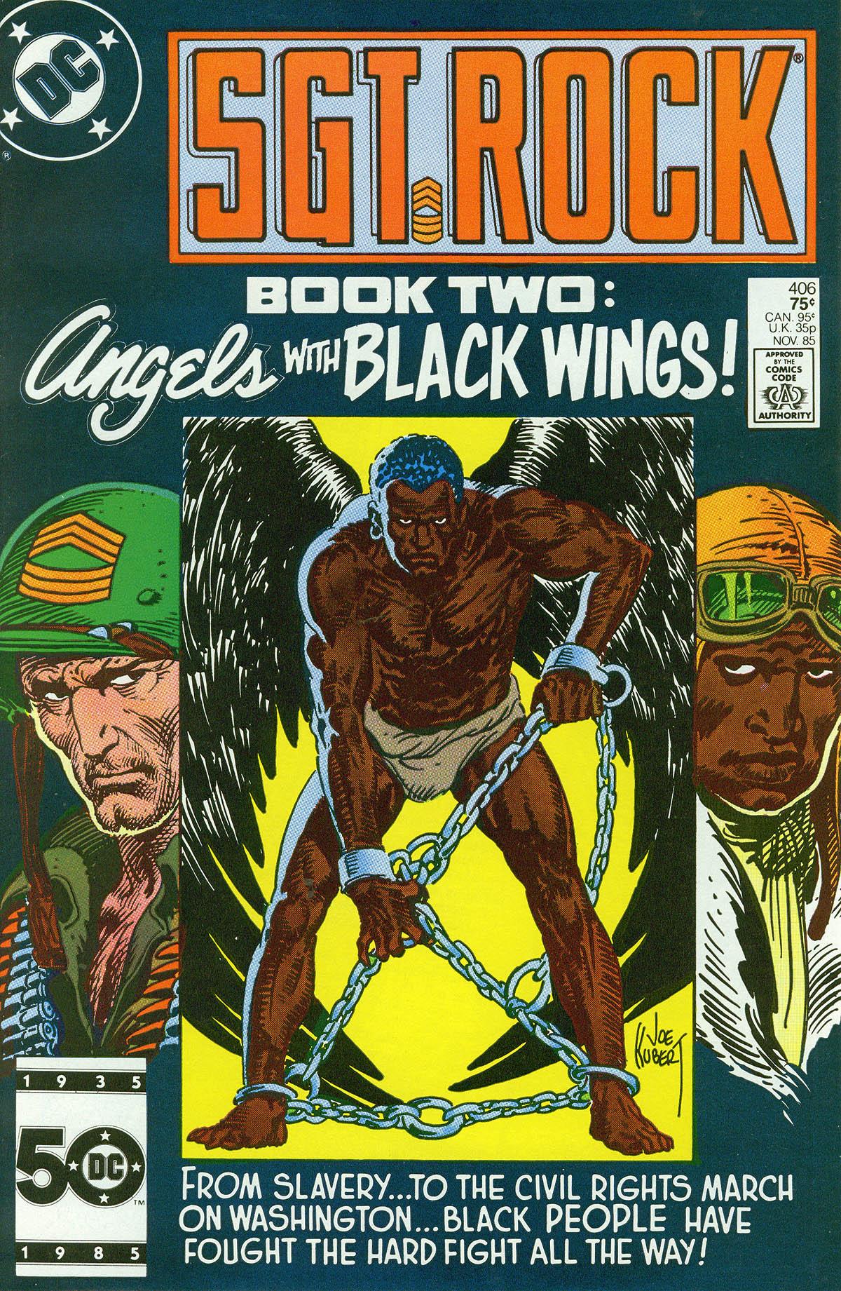 Read online Sgt. Rock comic -  Issue #406 - 1